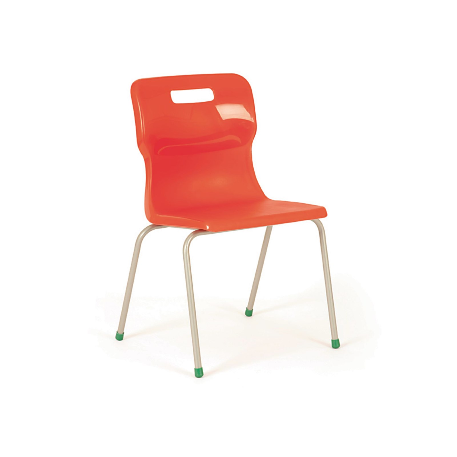 Titan 4 Leg Chair Size 3 Ages 5 7 Orange