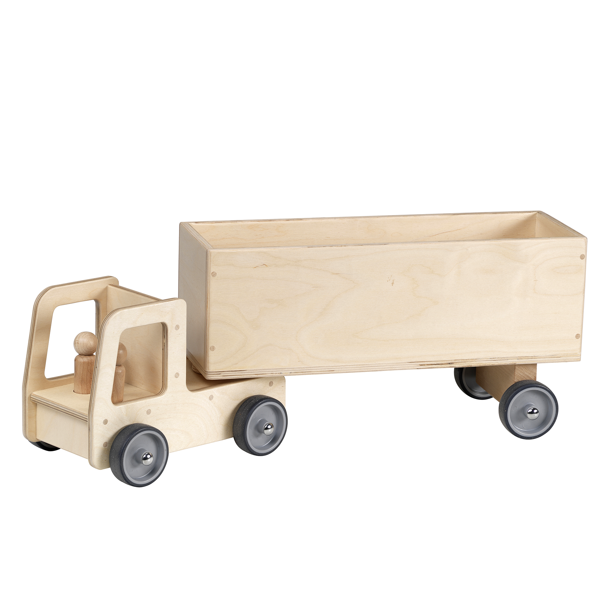 Millhouse - Giant Wooden Truck and Trailer