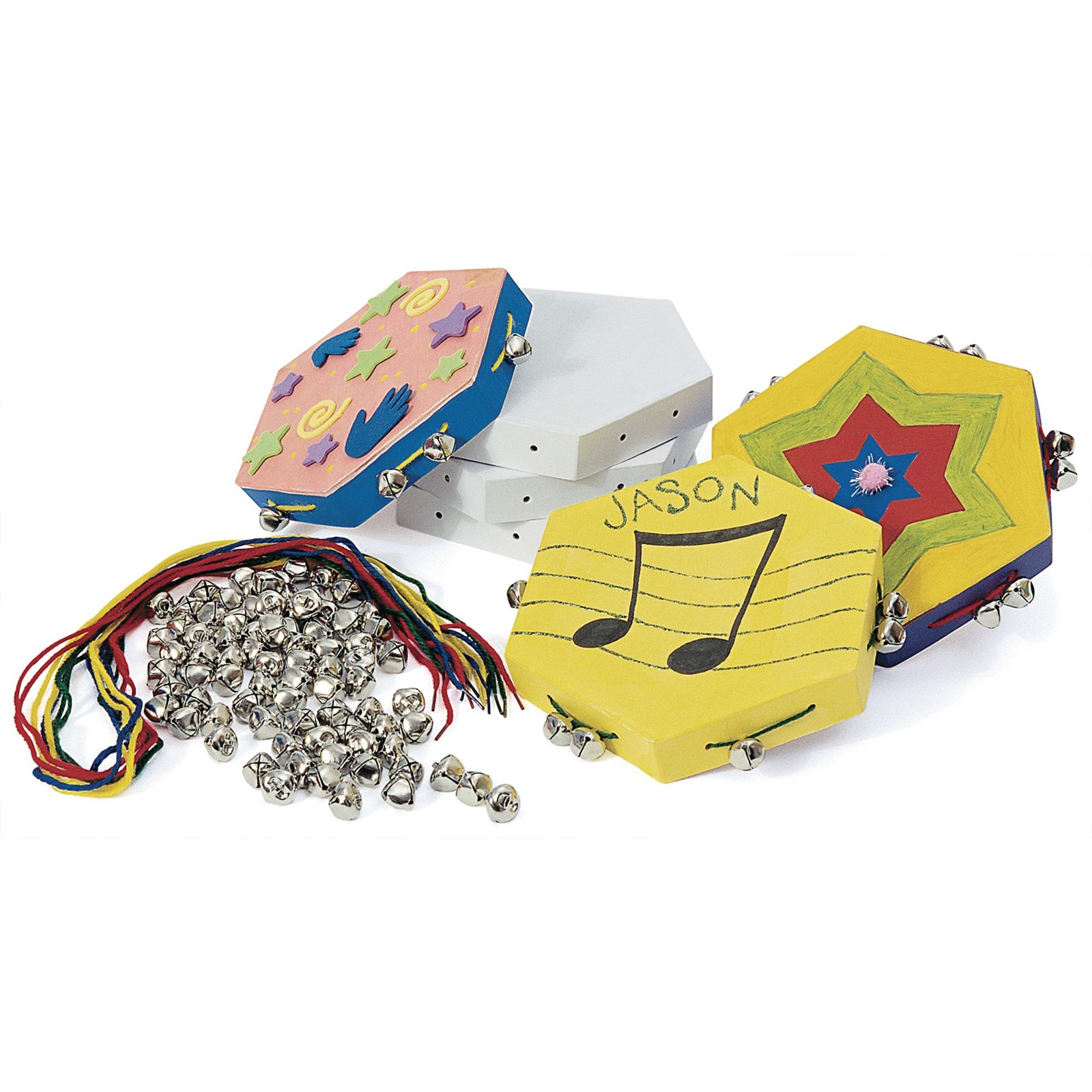 Make Your Own Tambourine Pack of 12