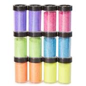 Neon Glitter Jars Pack of 12