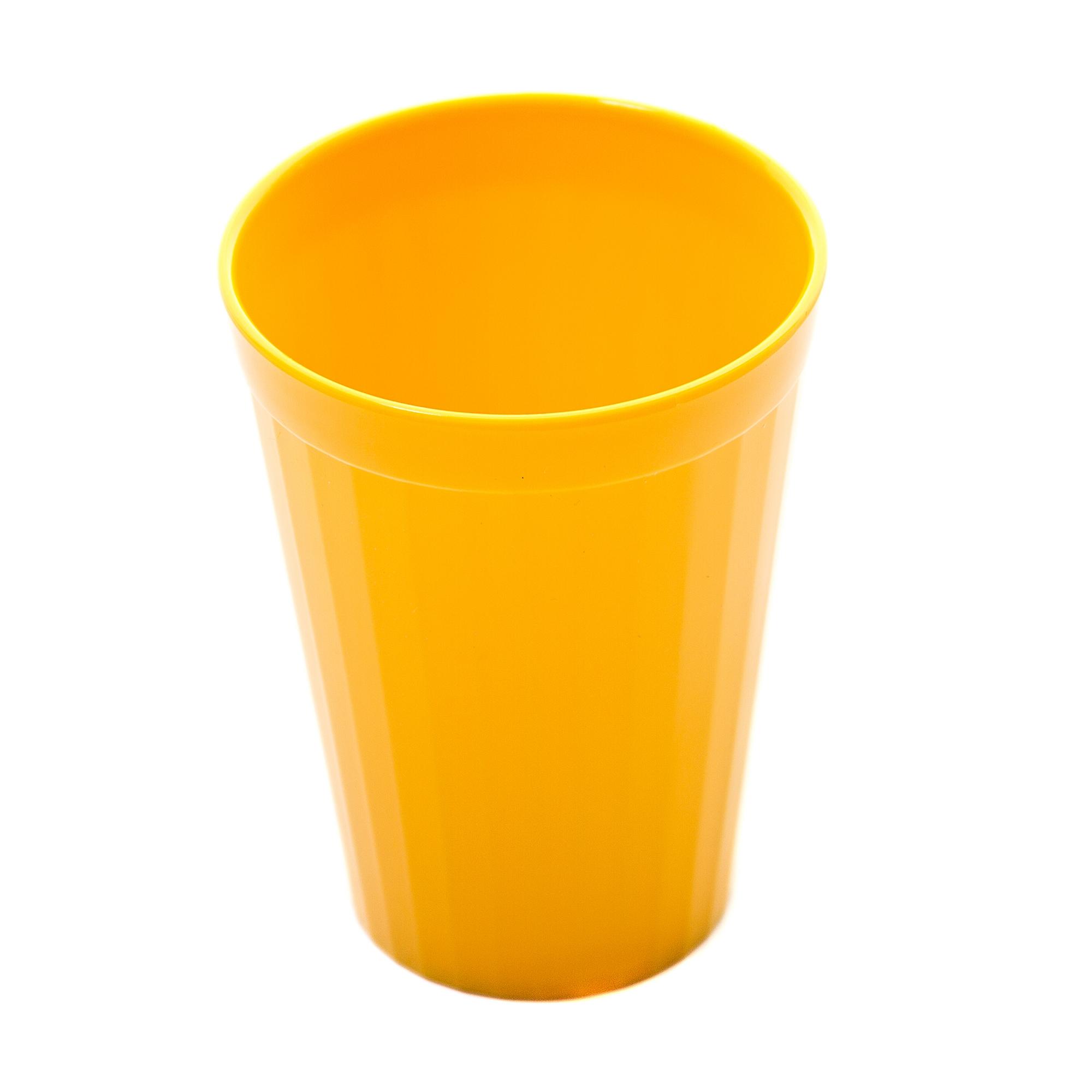 Coloured Beaker 200ml Pk10 Yellow