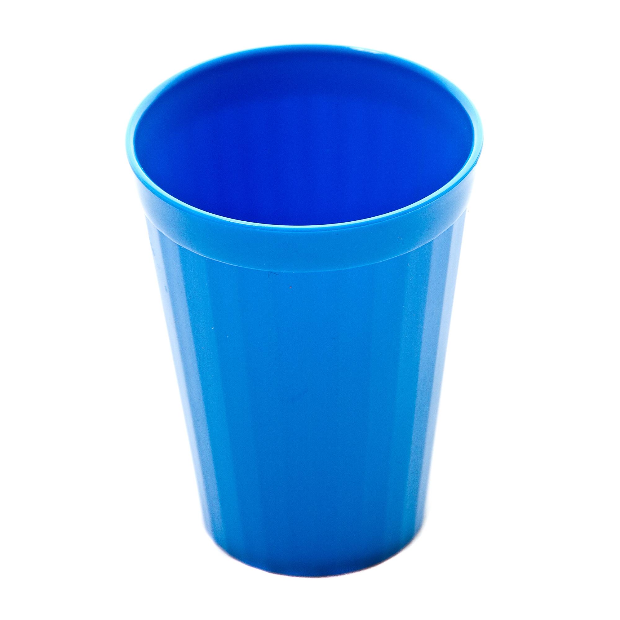 Coloured Beaker 200ml Pk10 Blue