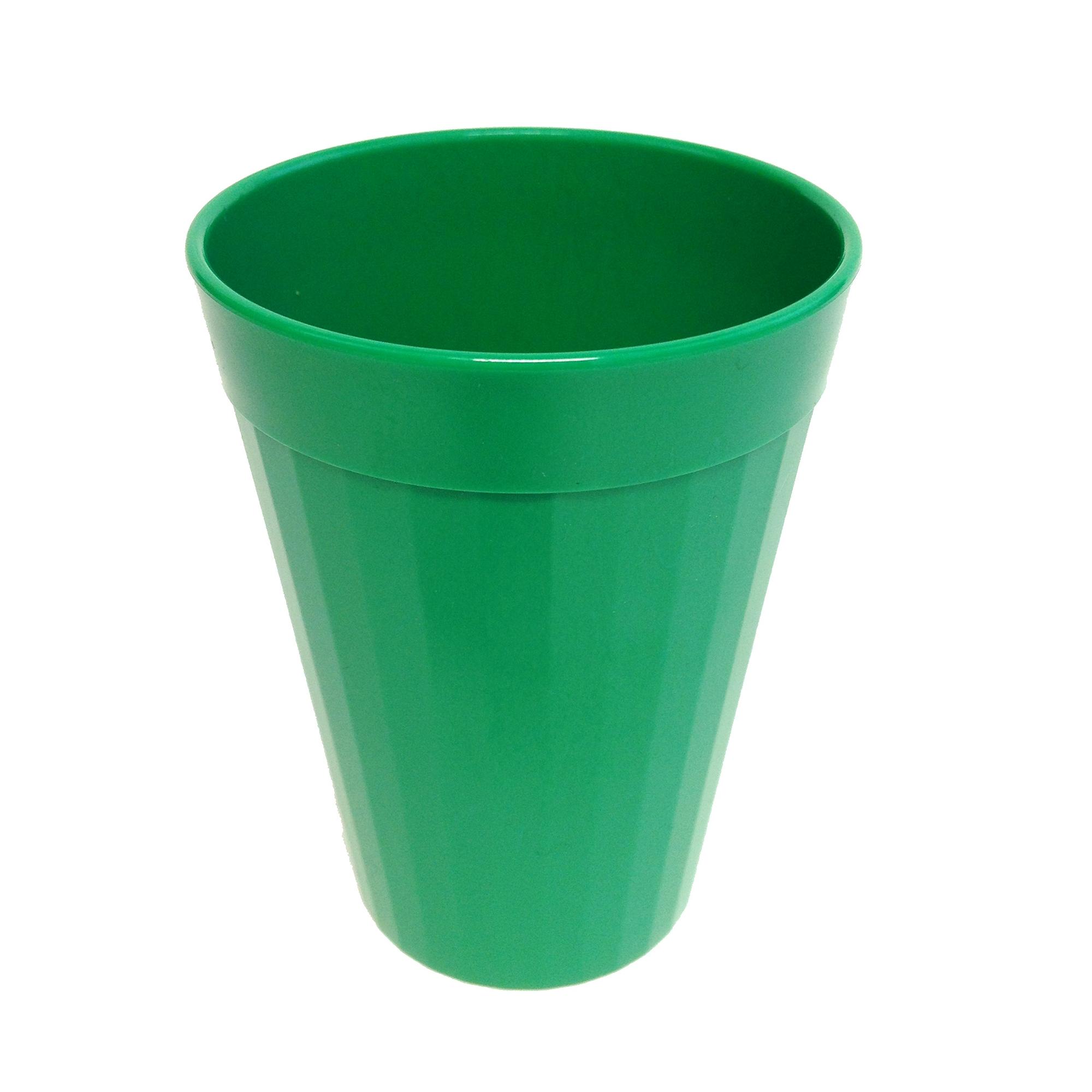Coloured Beaker 200ml Pk10 Green