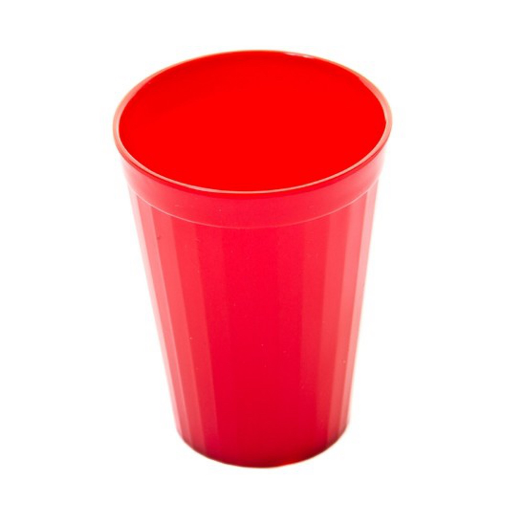 Coloured Beaker 200ml Pk10 Red