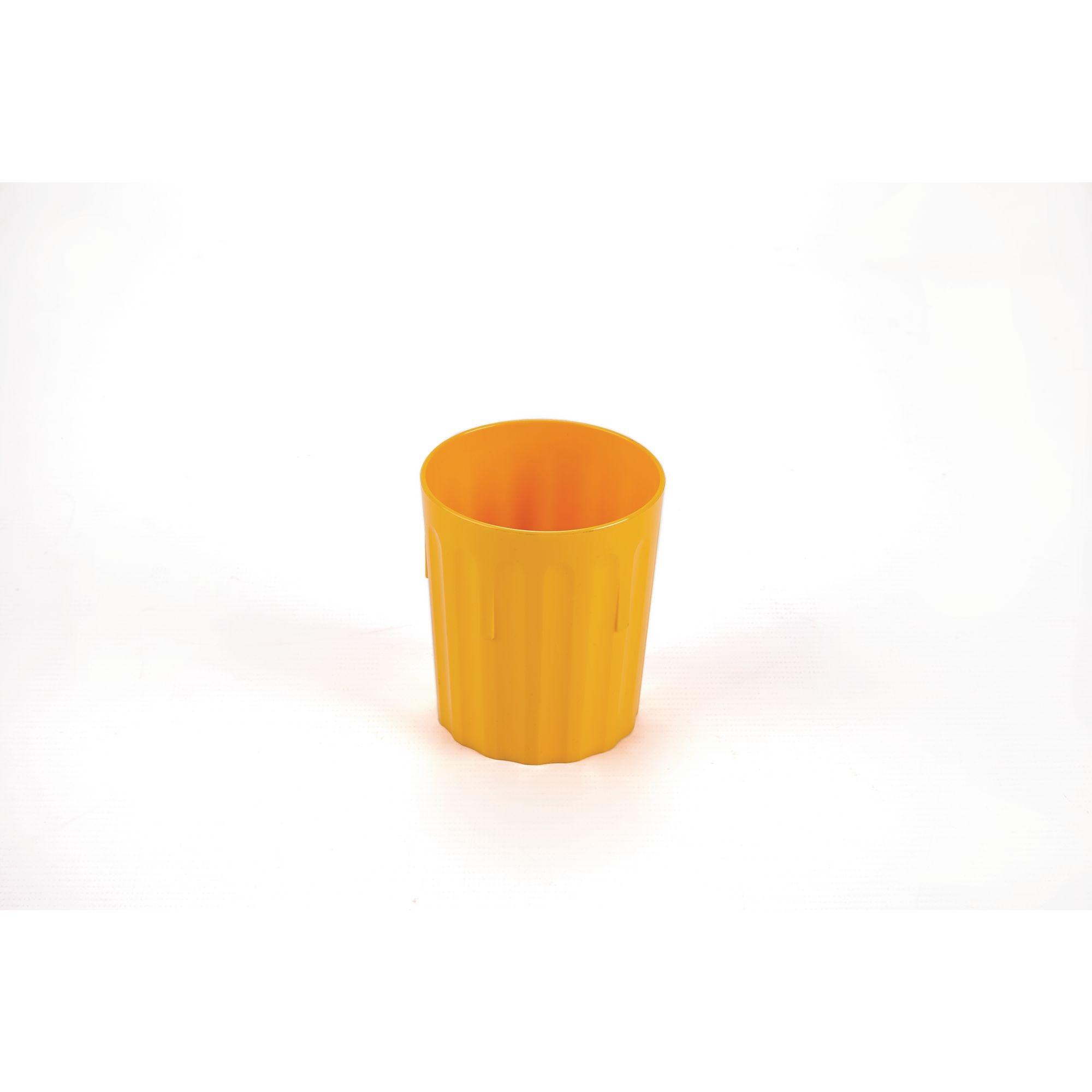Coloured Beaker 224ml Pk10 Yellow