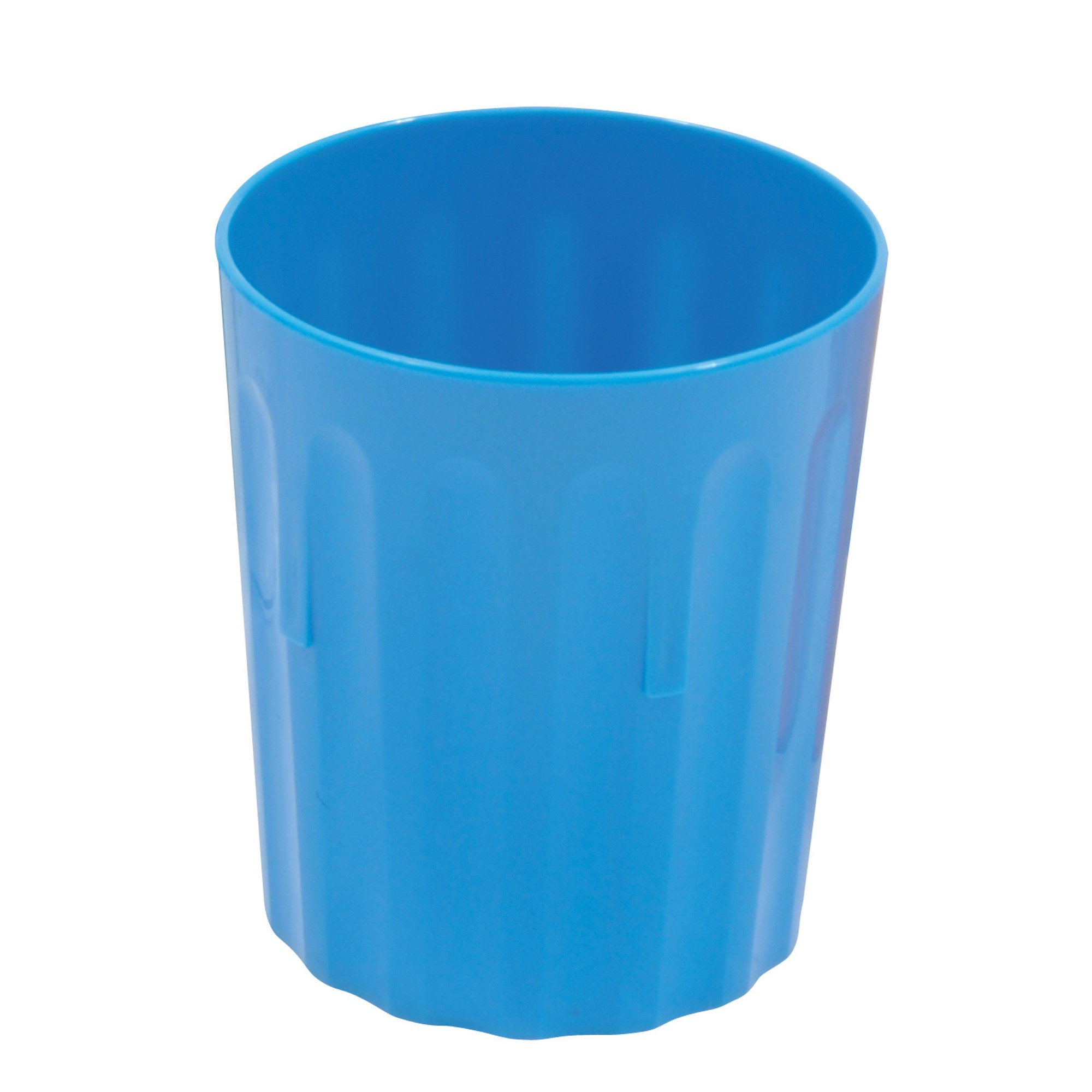 Coloured Beaker 224ml Pk10 Blue