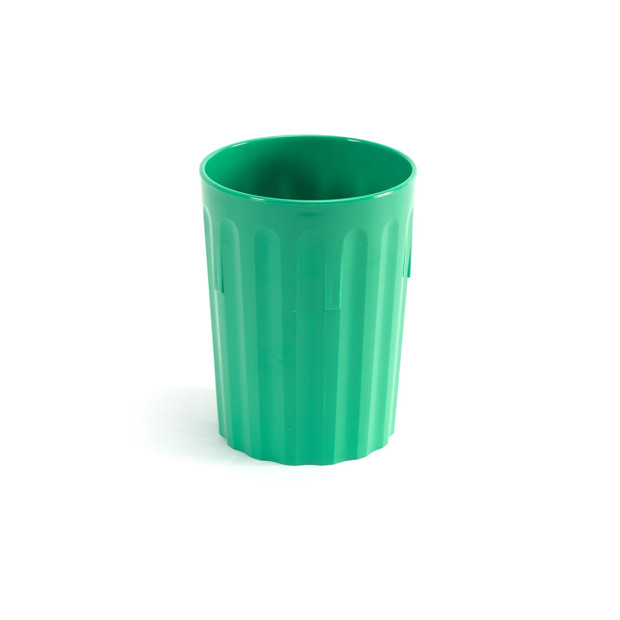 Coloured Beaker 224ml Pk10 Green
