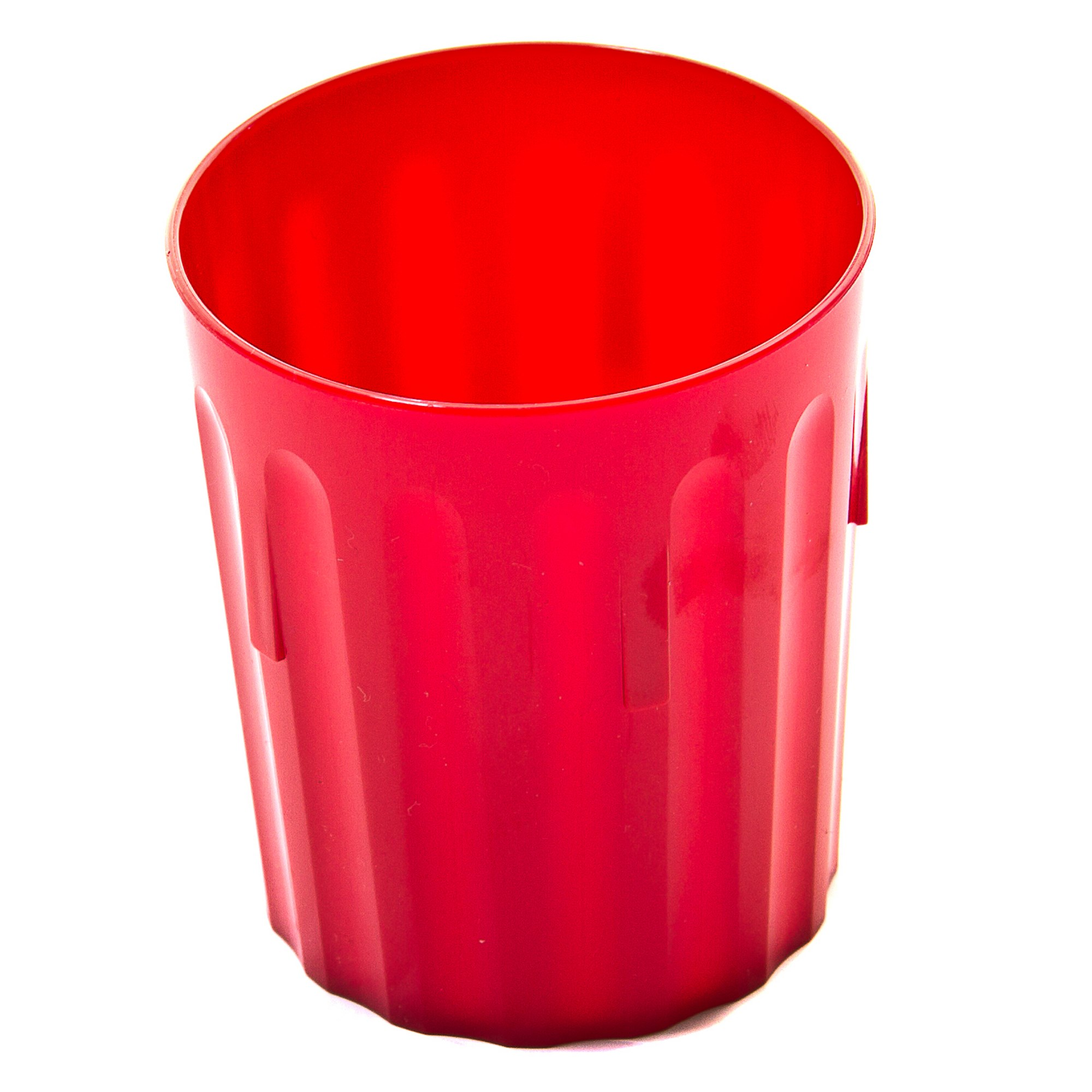 Coloured Beaker 224ml Pk10 Red