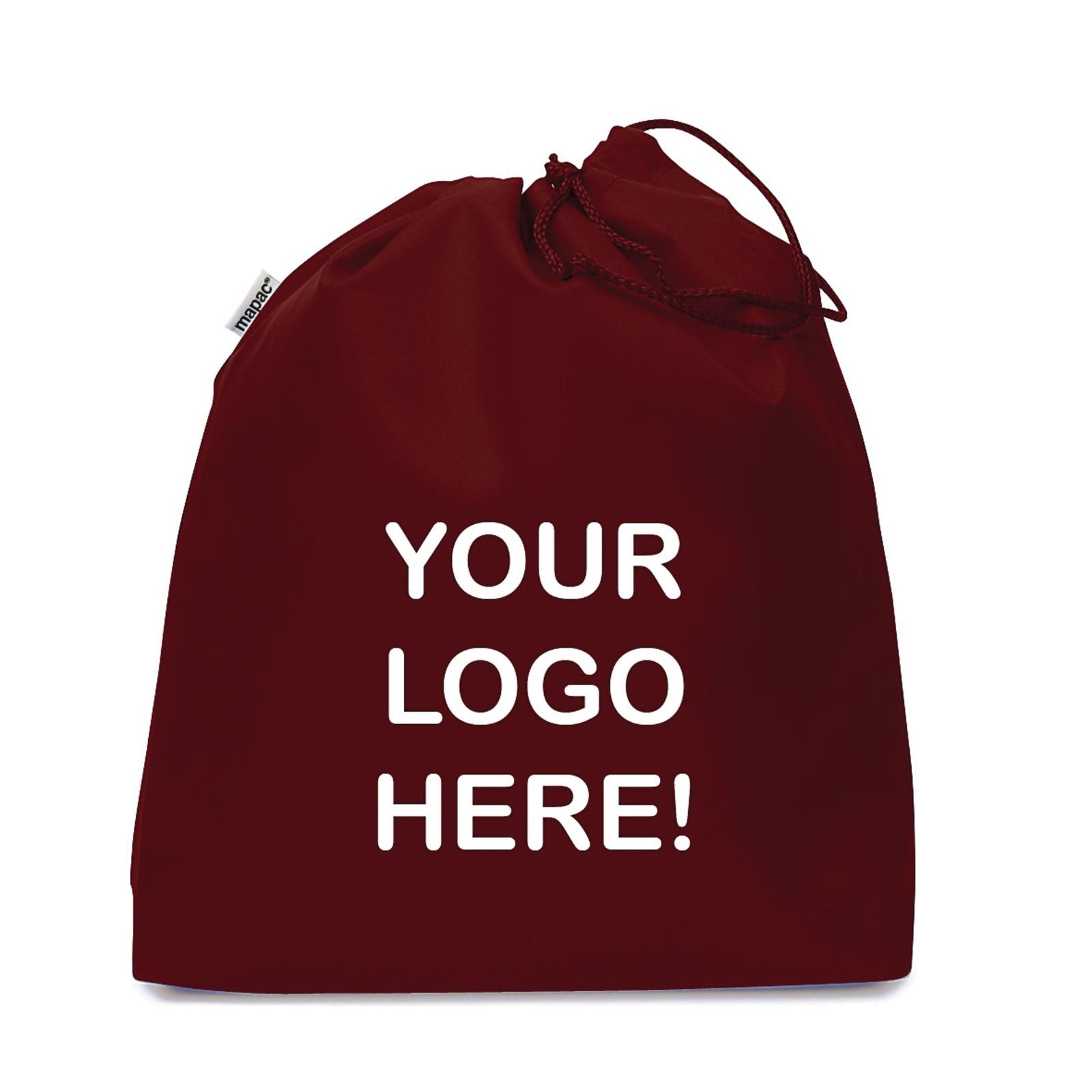 Personalised Gym Bag Maroon - Pack of 25