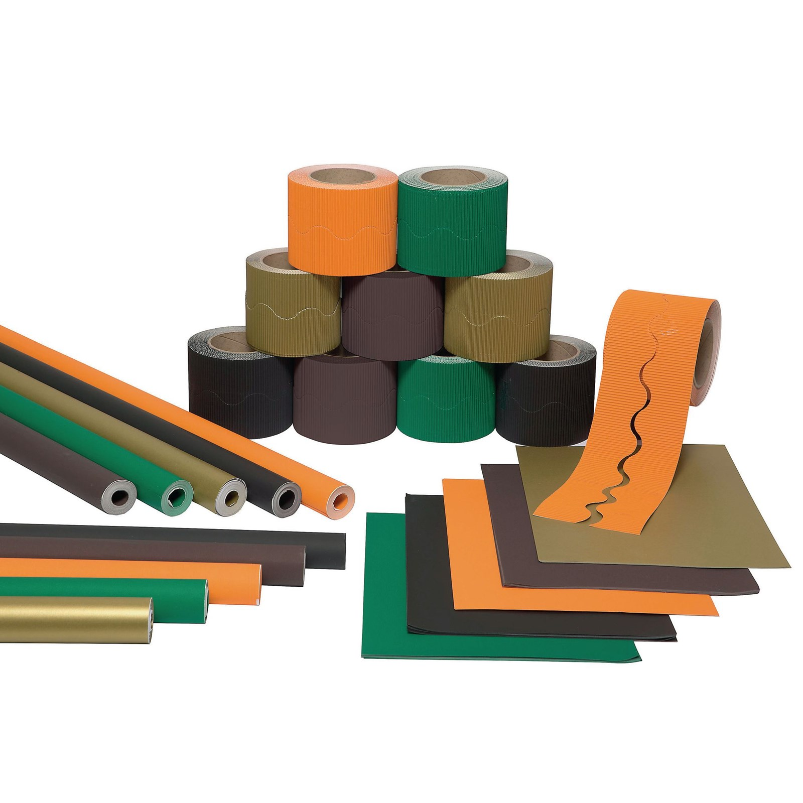Educraft Woodland Wall Display Bulk Pack
