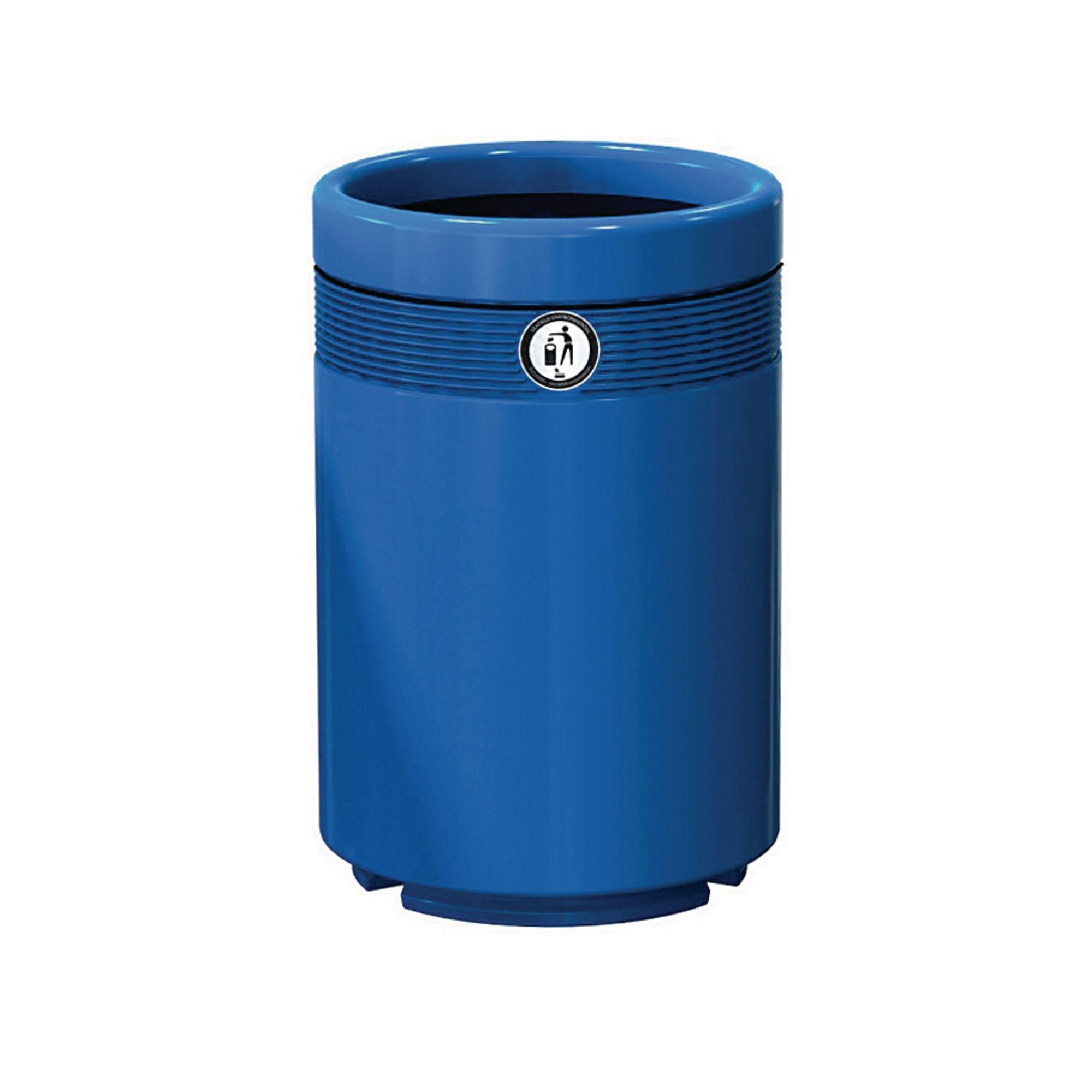 Monarch Litter Bin Economy Blue