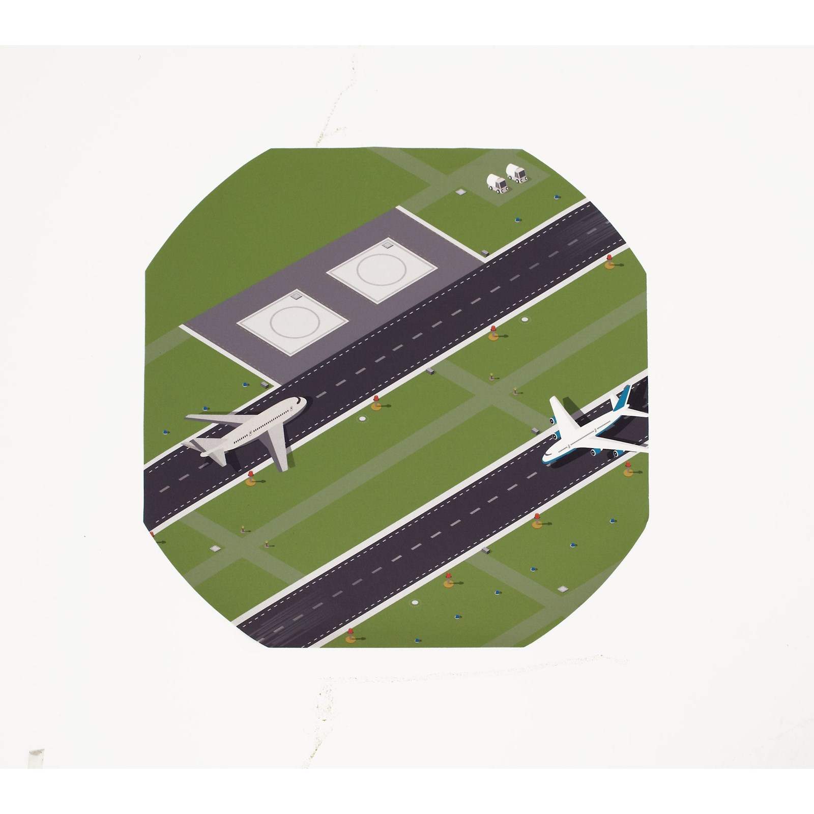 Airport Play Tray Mat from Hope Education