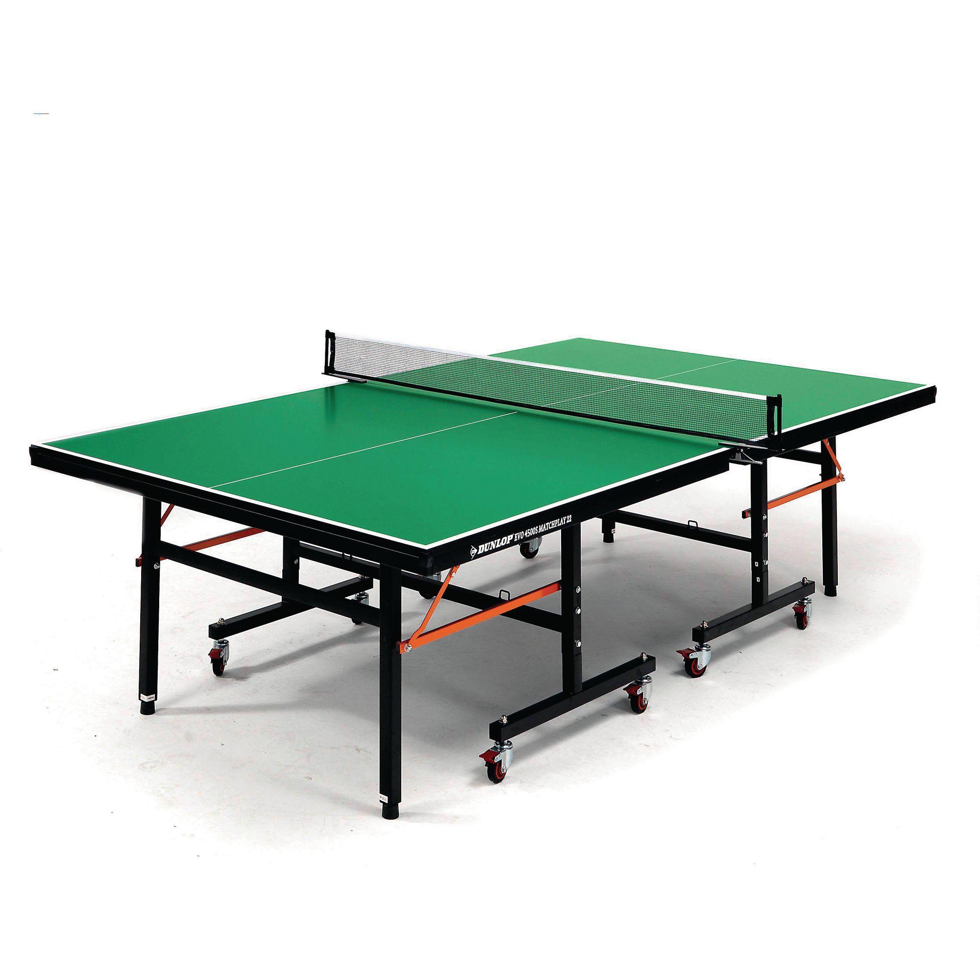 - Dunlop® EVO4500S Table Tennis Table - Green - PTBP07338 Davies