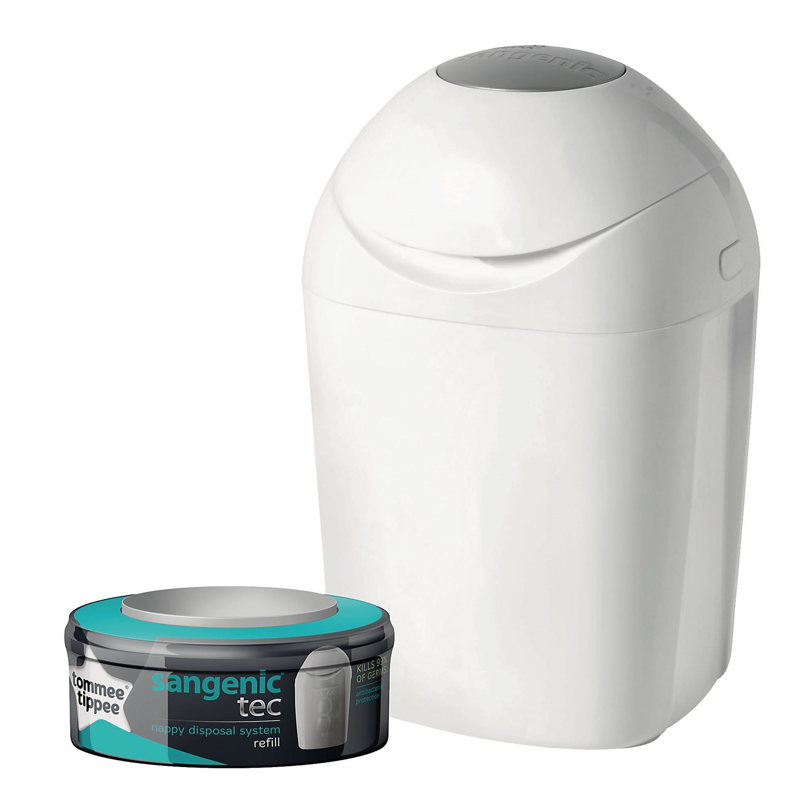 Tommee Tippee® Sangenic Tec Nappy Disposal Tub with Cassette