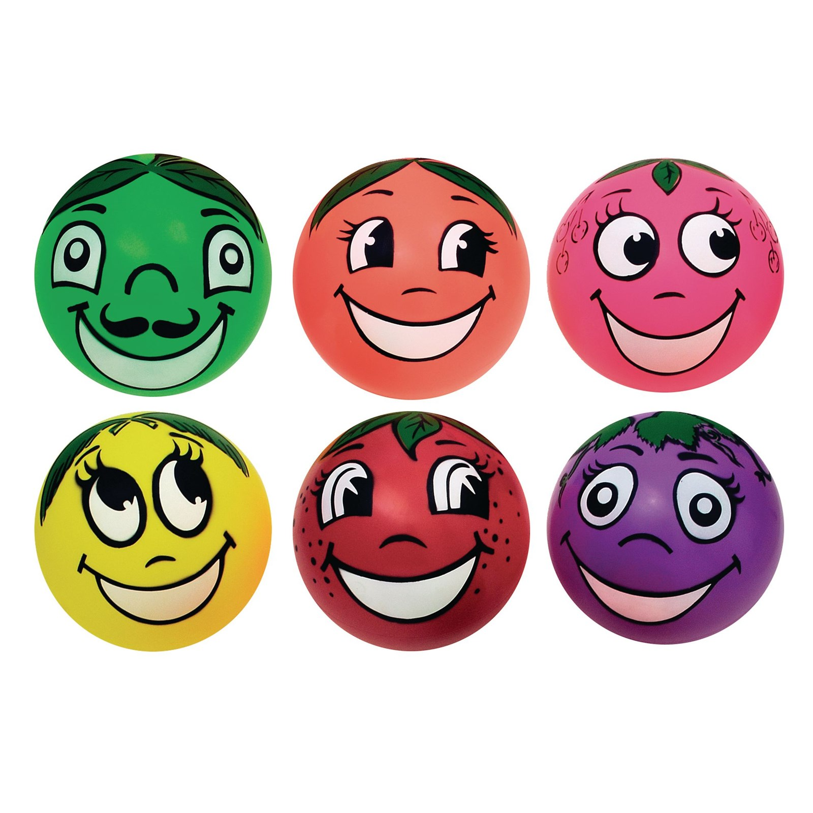 Fruity Face Balls - Pack of 6