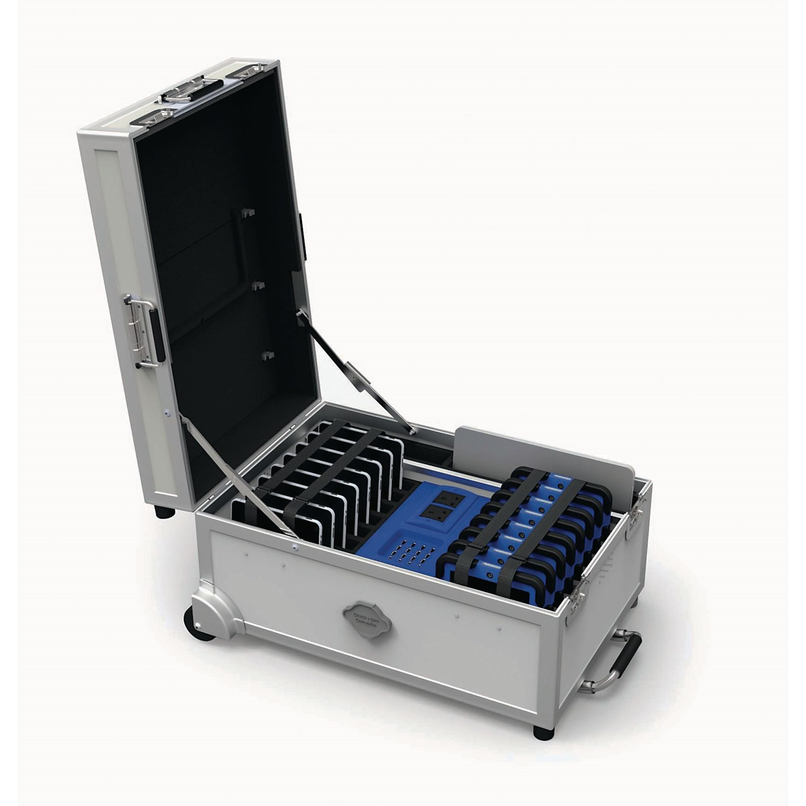 GoCabby Portable Tablet Charging Trolley