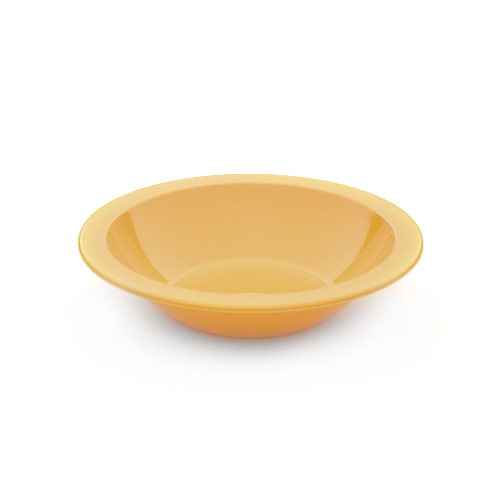 Polycarb Rimmed Bowls 170mm - Yellow