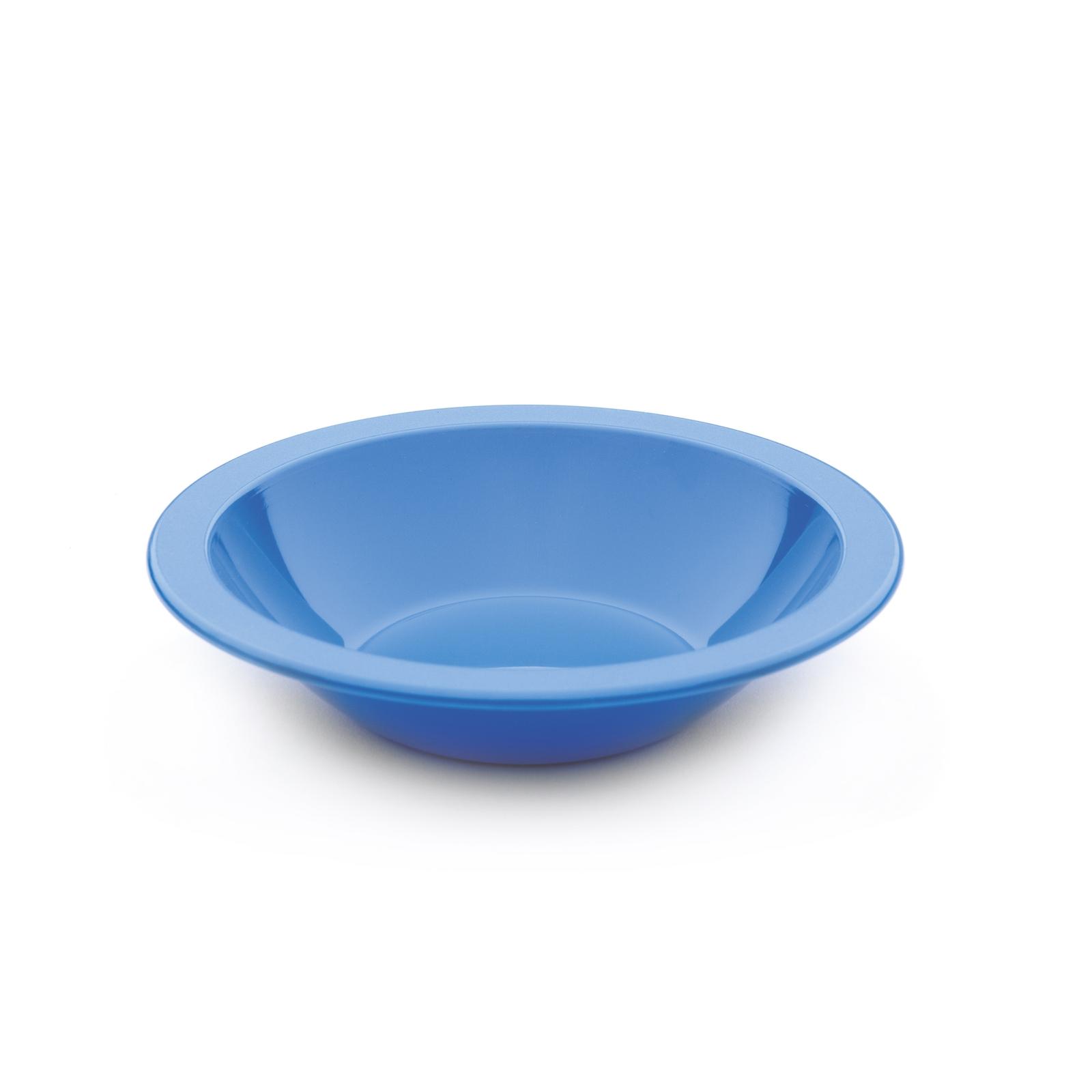 Polycarb Rimmed Bowls 170mm - Blue