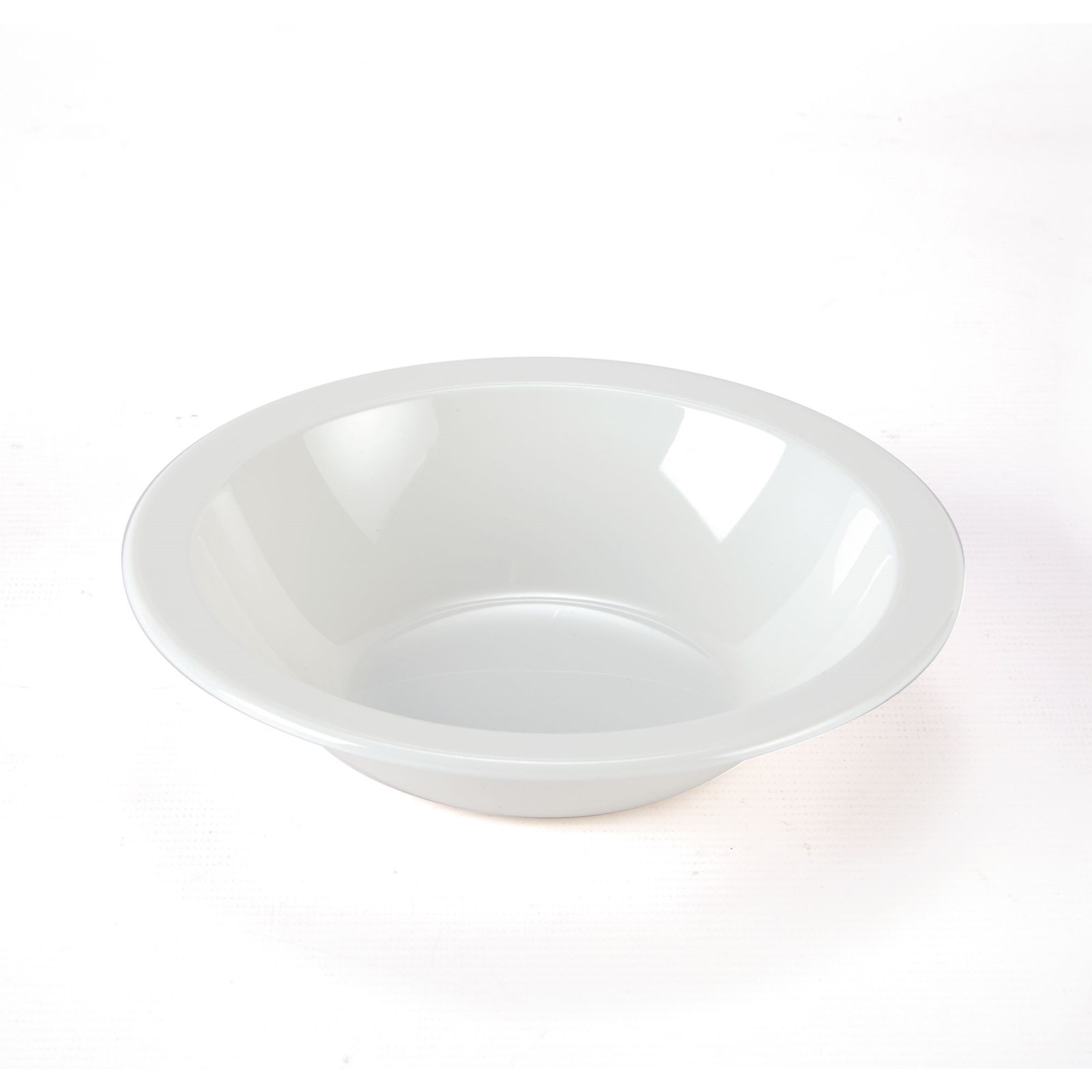 Polycarb Rimmed Bowls 170mm - White
