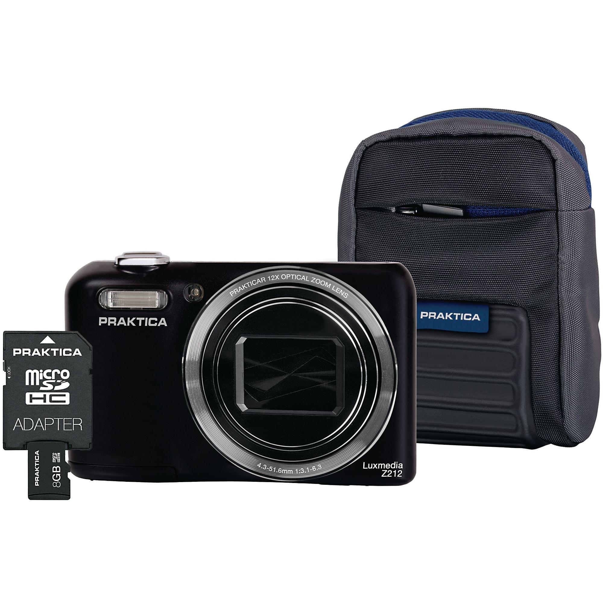 Praktica Luxmedia Z212 Camera Kit Black