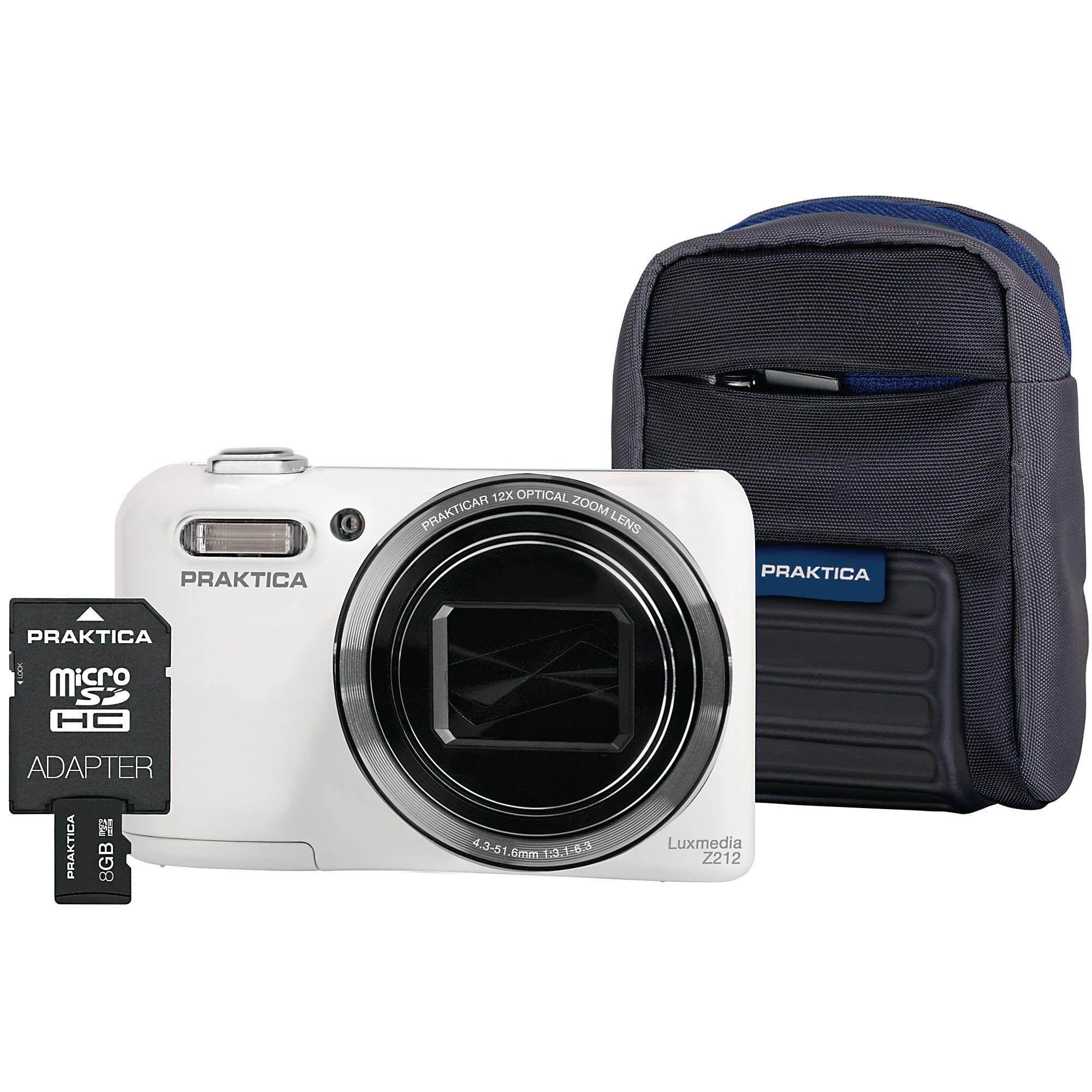 Praktica Luxmedia Z212 Camera Kit White