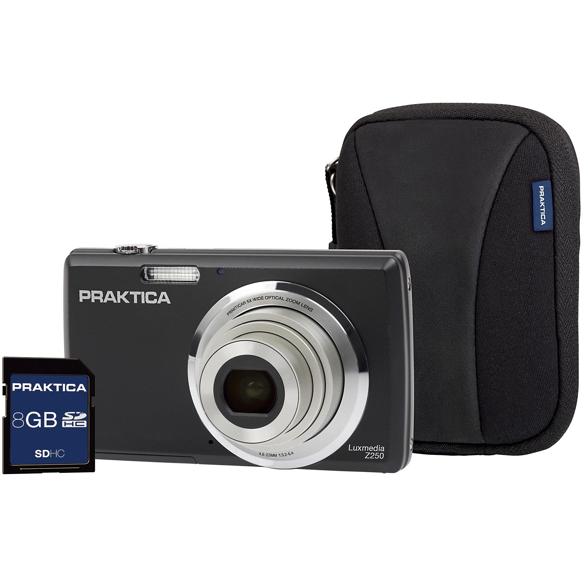 Praktica Luxmedia Z250 Camera Kit Black