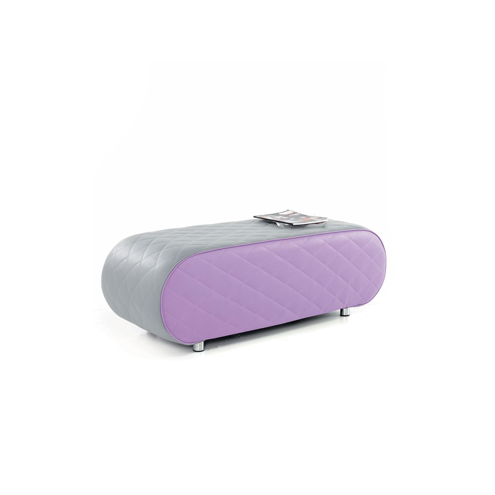 Large Ellipse - Grey and Purple