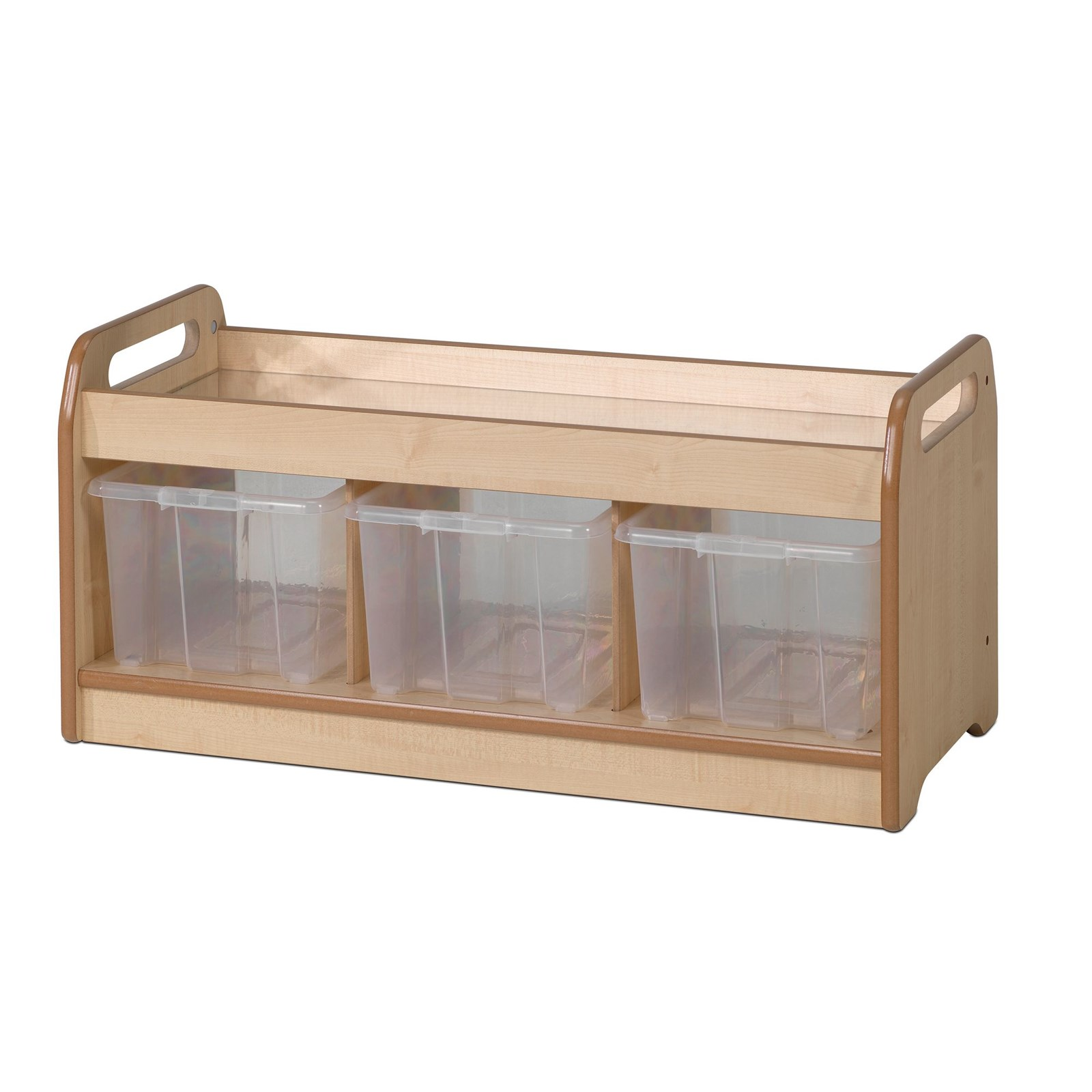 Playscapes Low Mirror Play Unit - Clear Tubs