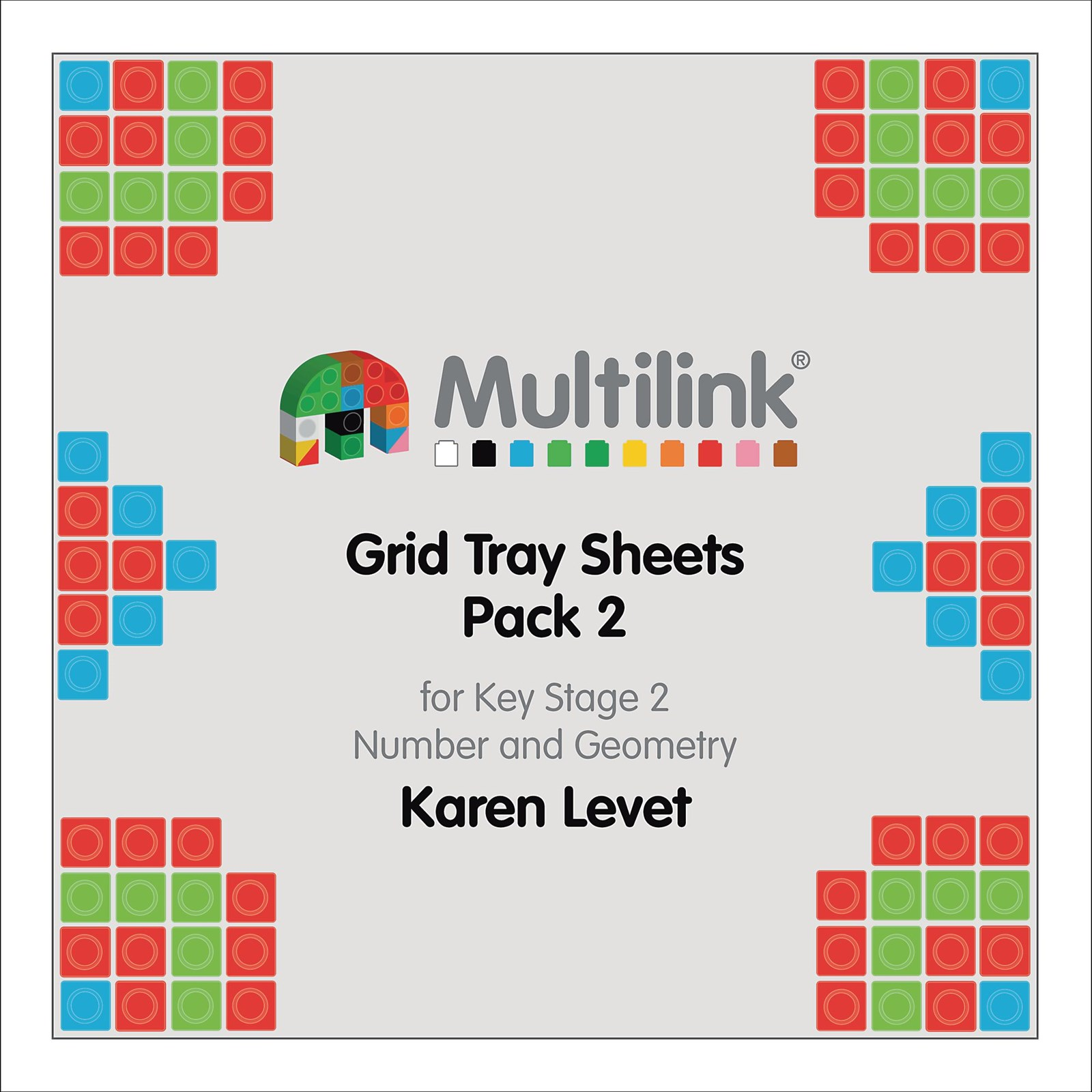 Multilink® Grid Tray Sheets Pack 2 for Key Stage 2 - Number and ...