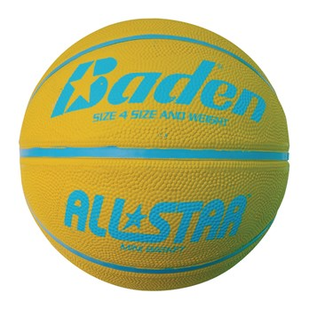 a065dc726d96 Báden® All Star Basketball - Yellow Blue - Size 4