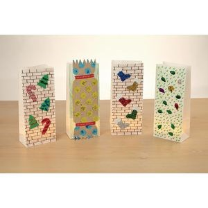 Lantern and Gift Bags Pack of 100