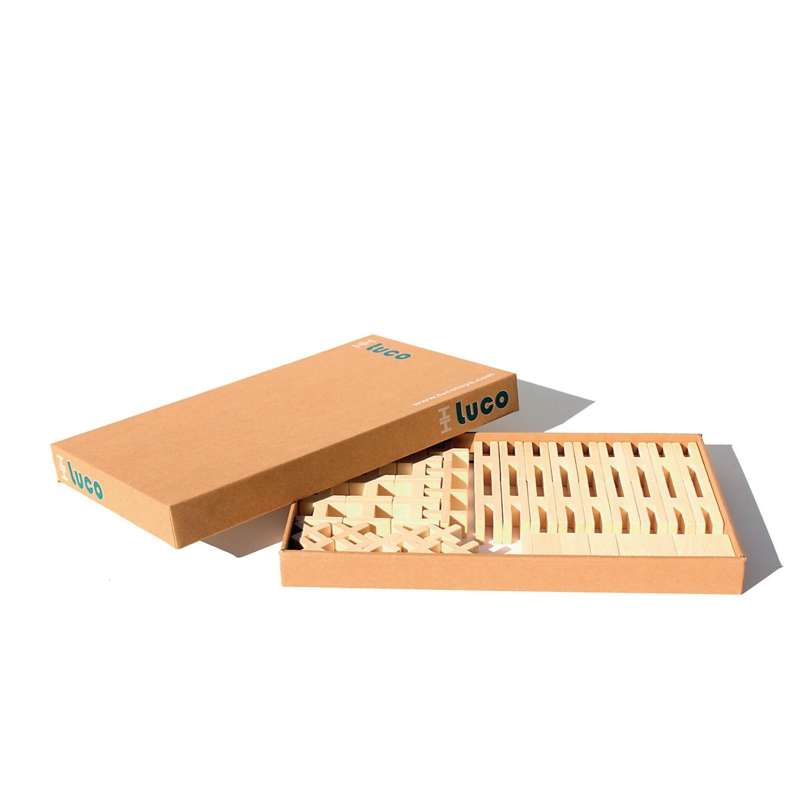 Luco Bricks Natural -  Pack of 65