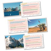 Thinking Geography Cards - North America