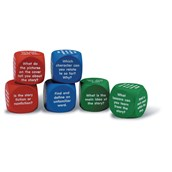 Reading Comprehension Cubes Pack of 6