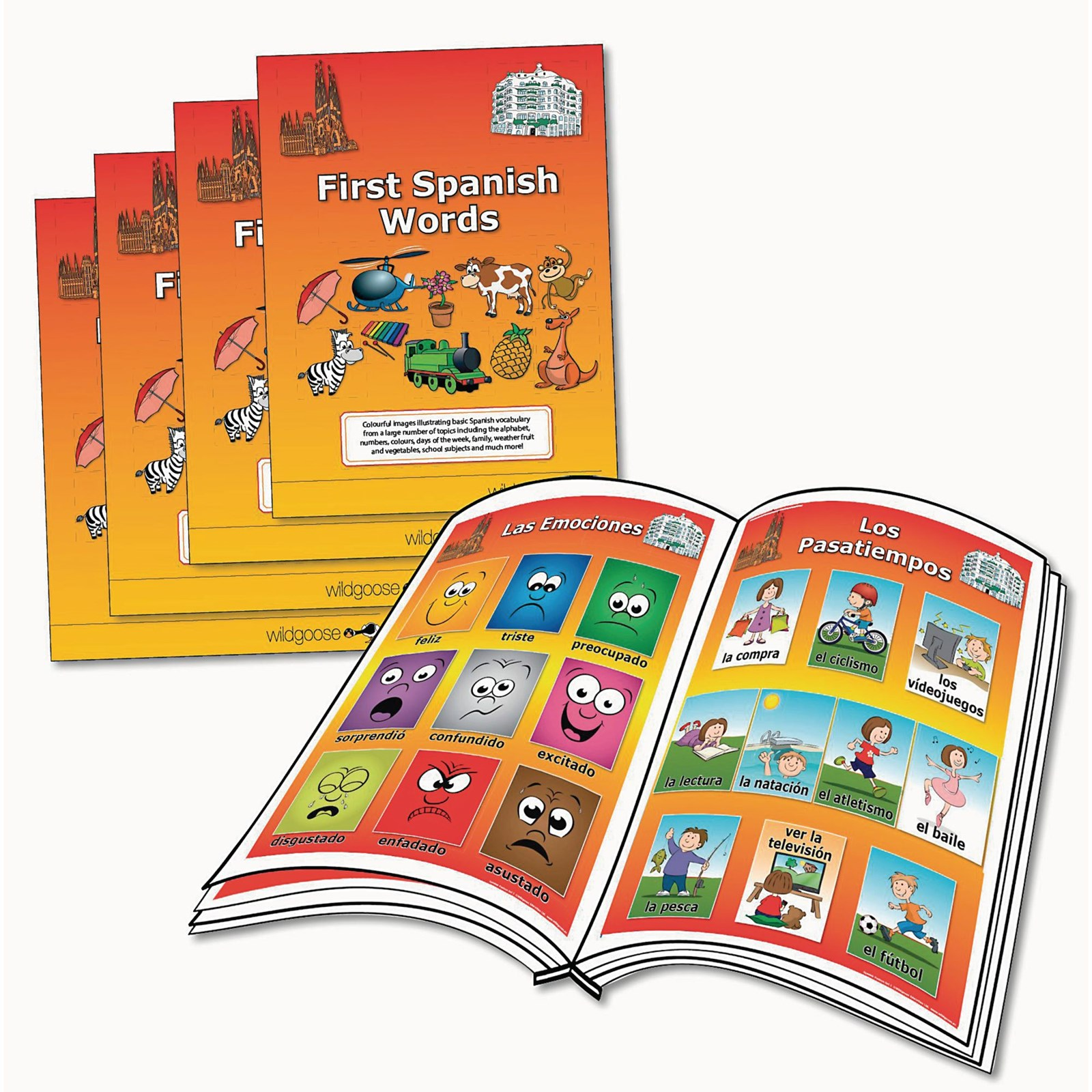 First Spanish Words Booklets