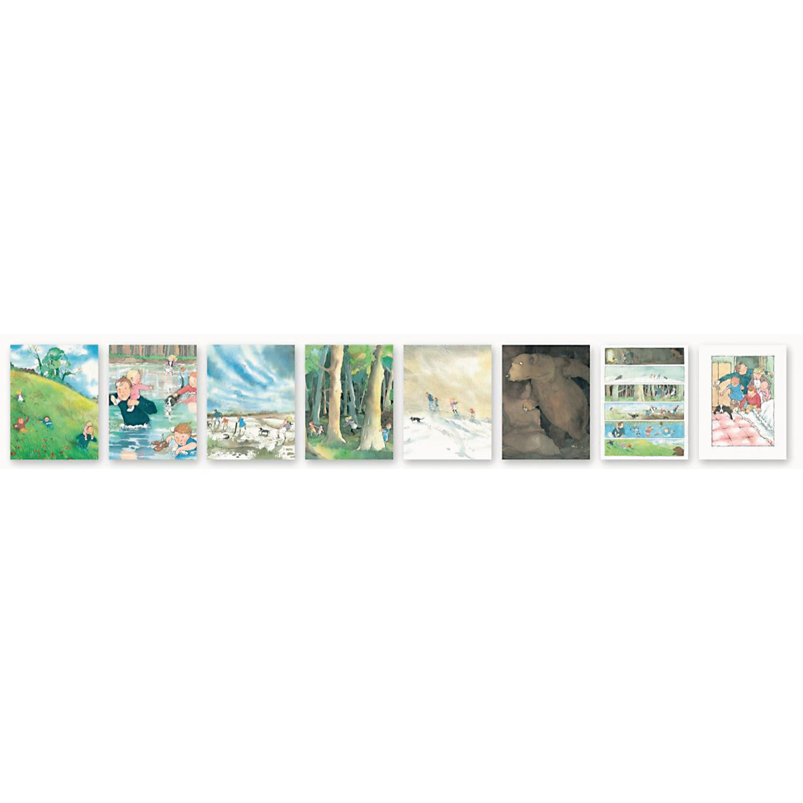Bear Hunt Story Talk Cards Pack of 8