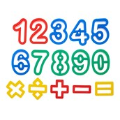Number Cutters Pack of 15