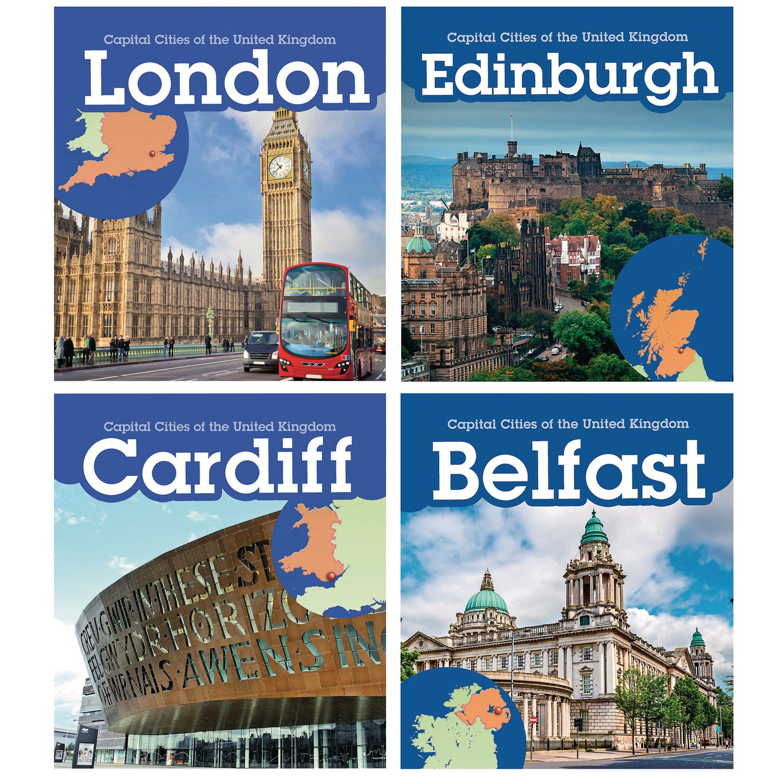 Capital Cities of the UK