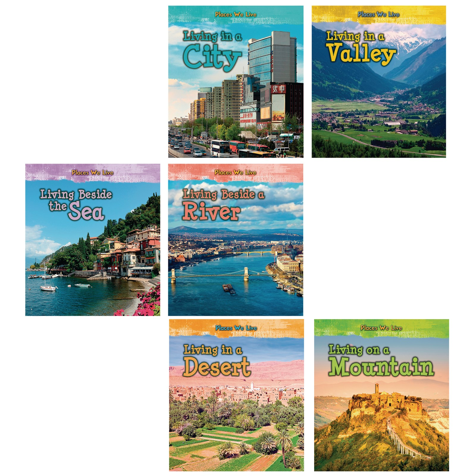Places We Live Book Pack