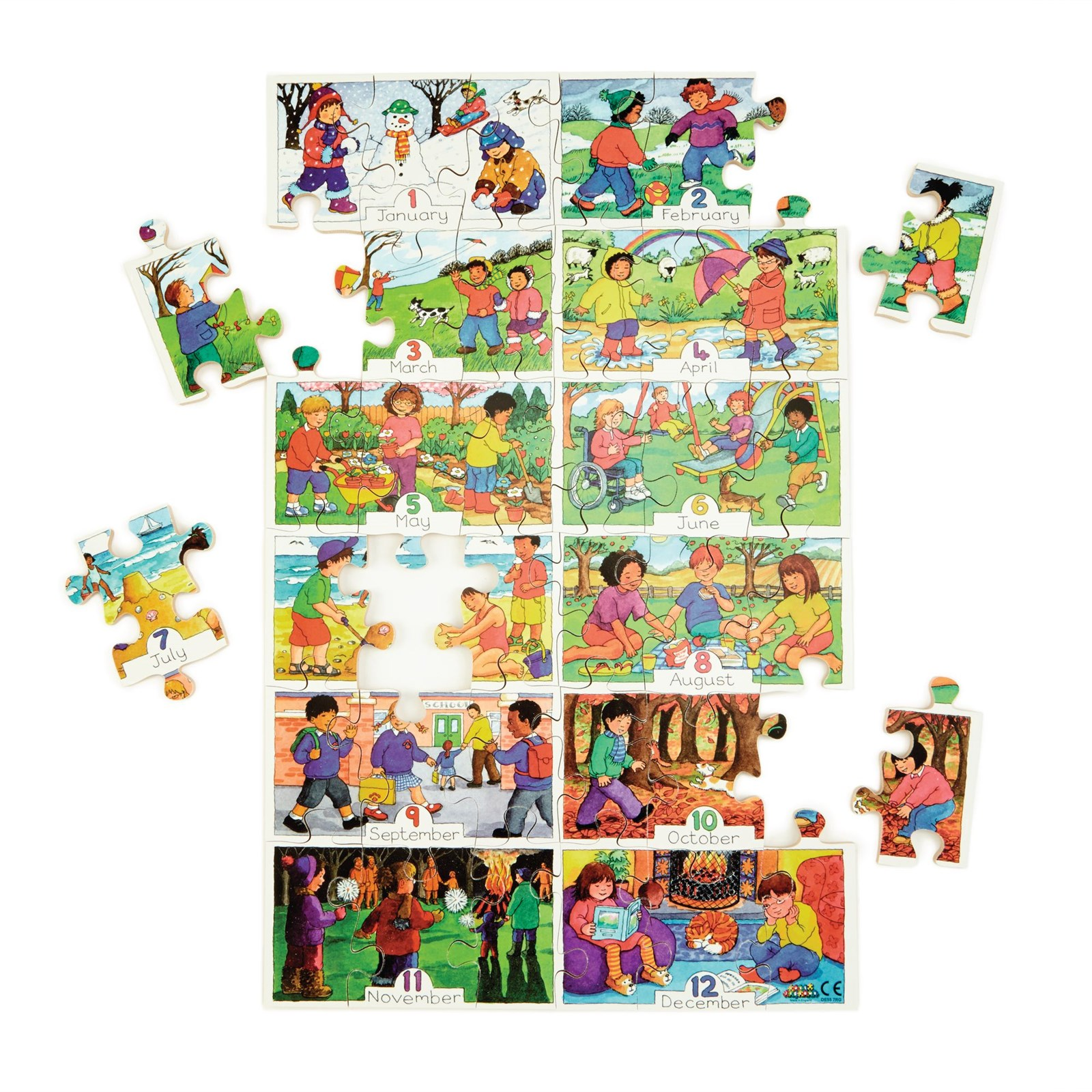 Months of the Year Jigsaw