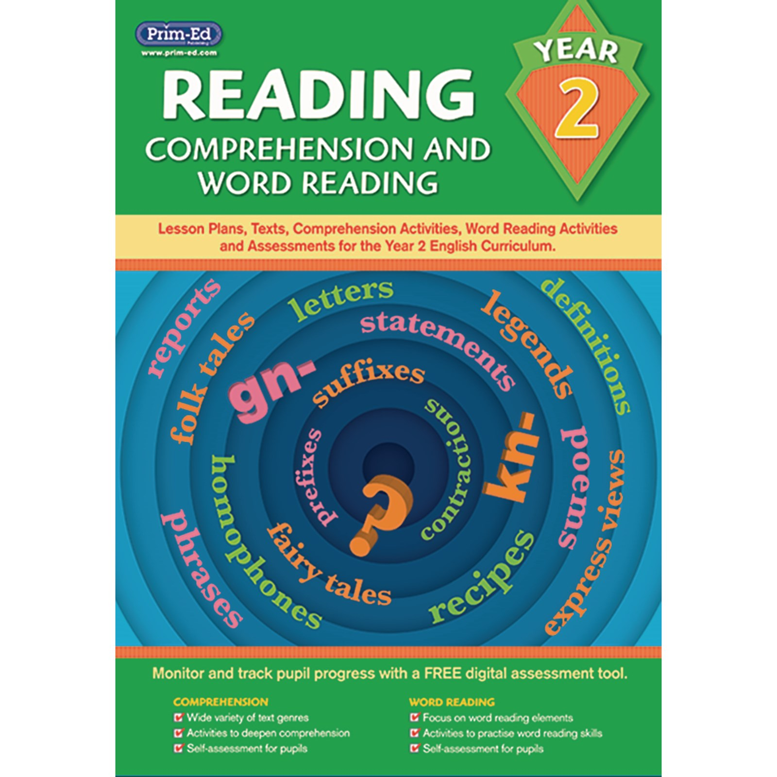 Comprehension and Word Reading Year 2