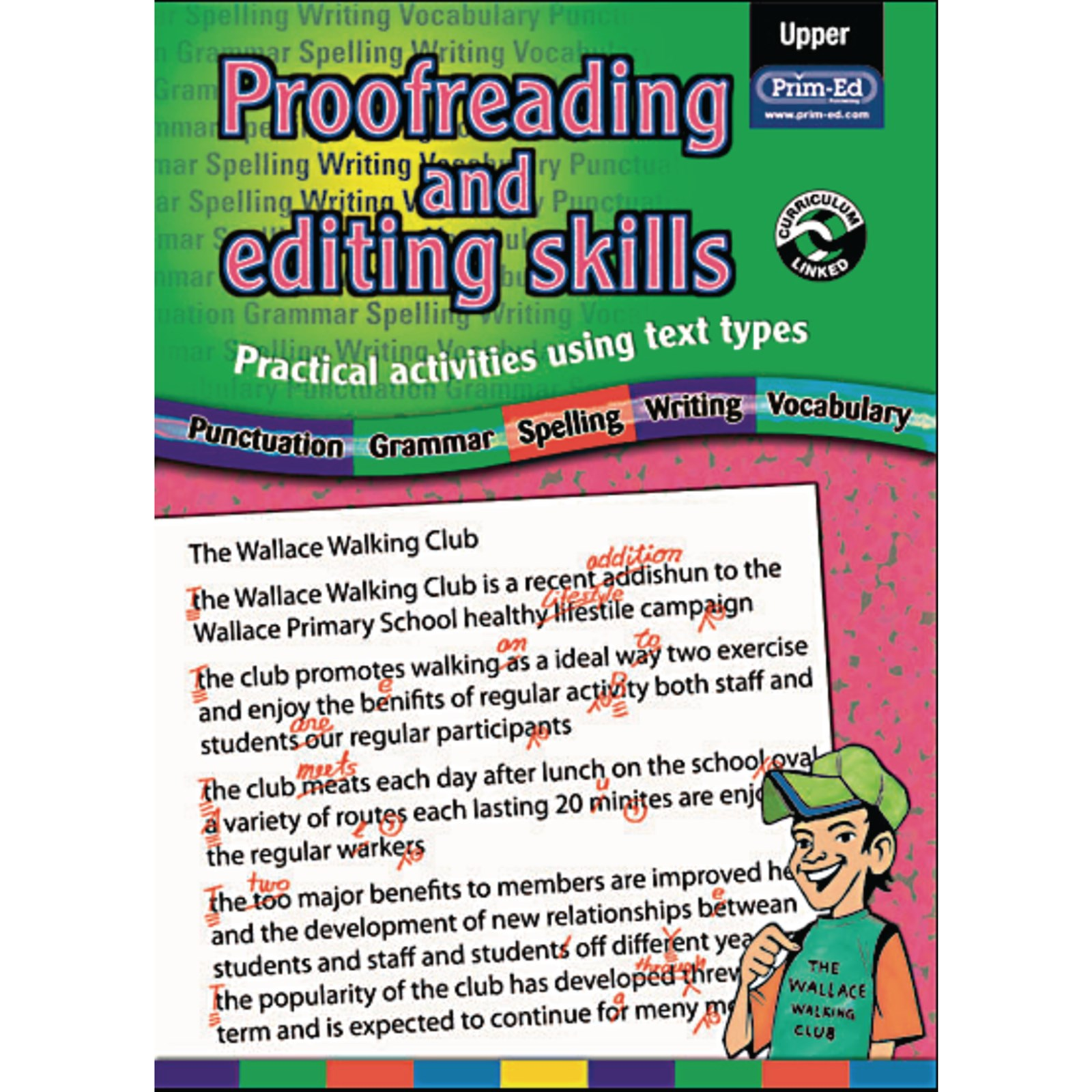Proofreading and Editing Skills Book 3