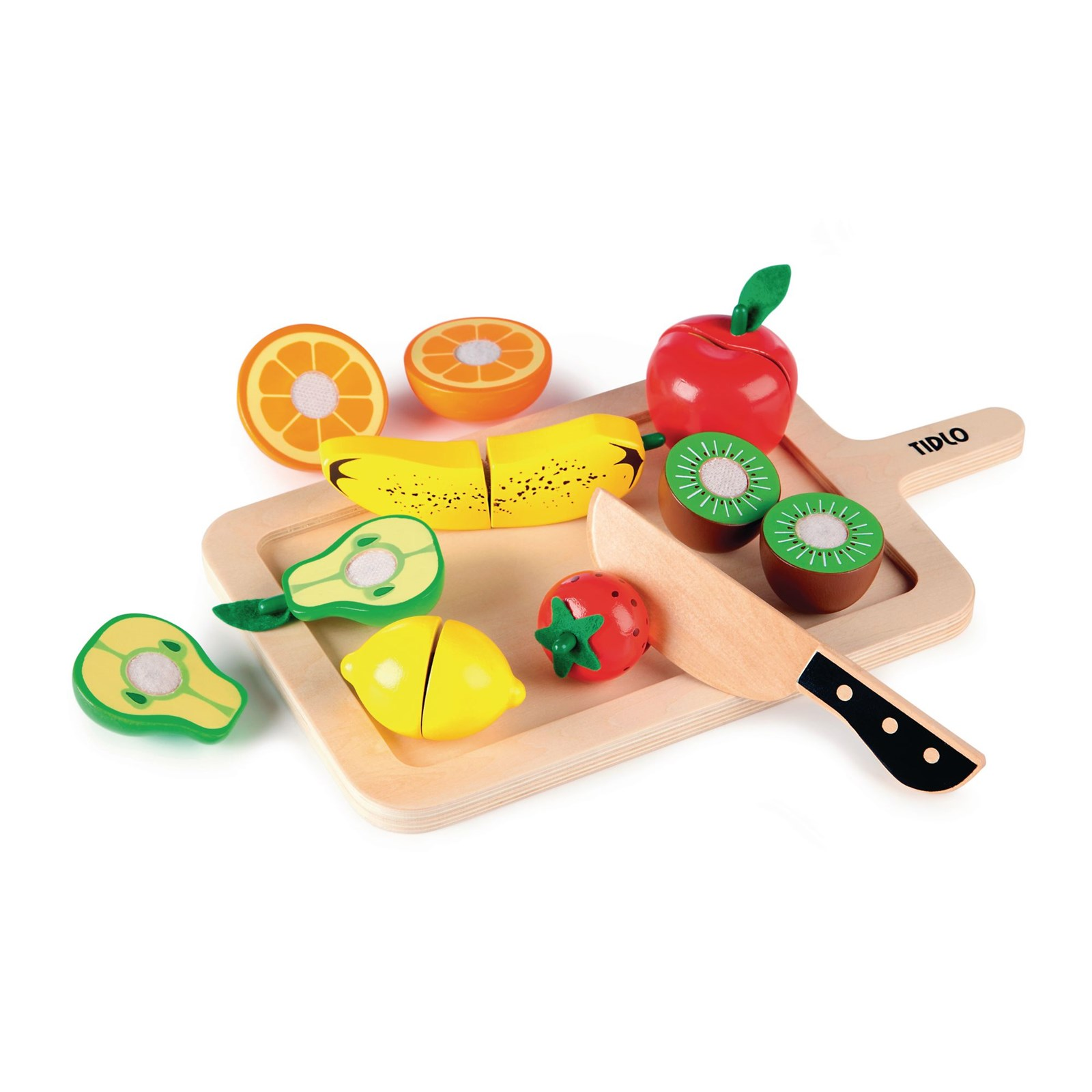 Chunky Wooden Cutting Sets - Fruits
