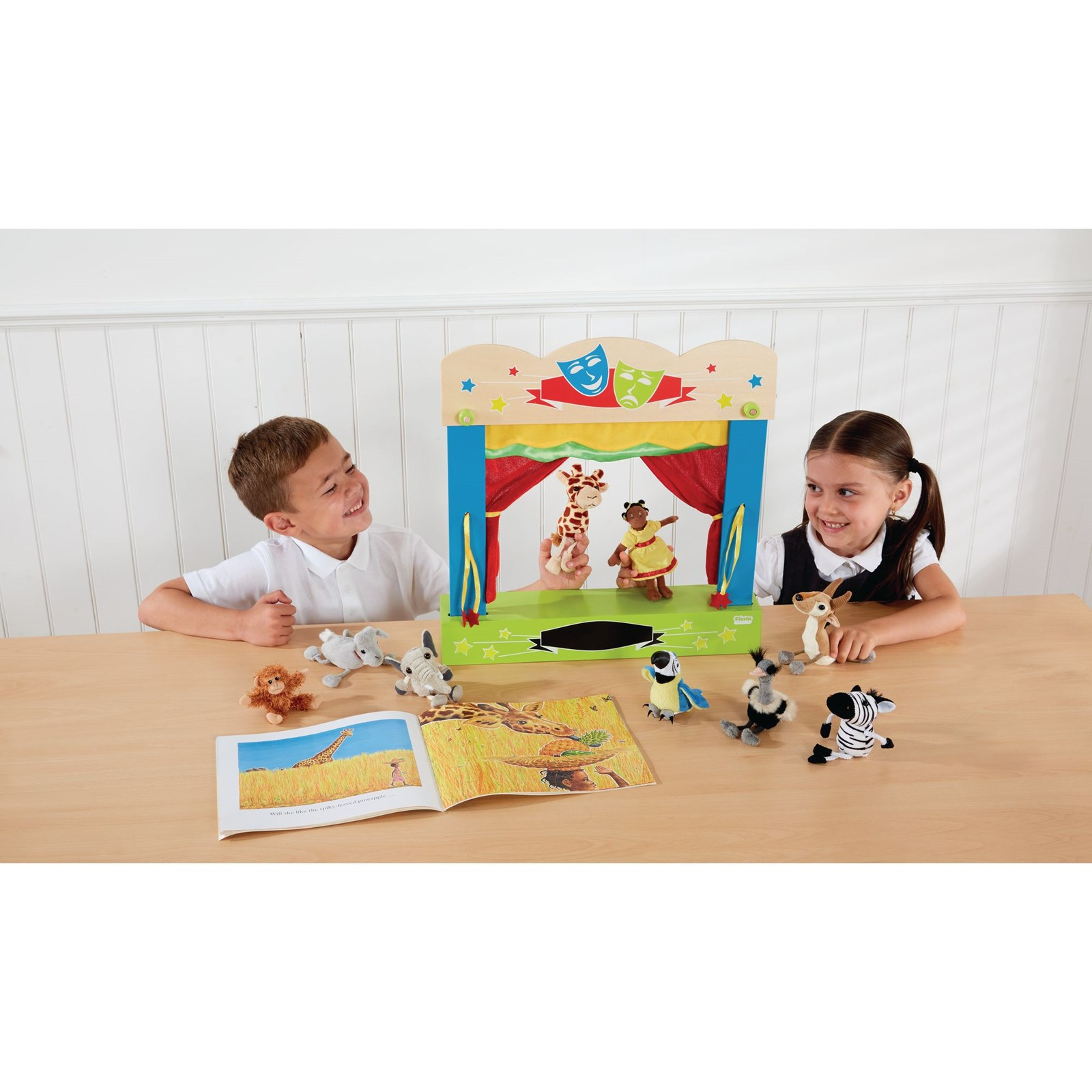 Carry Case Finger Puppet Theatre - Pack of 20