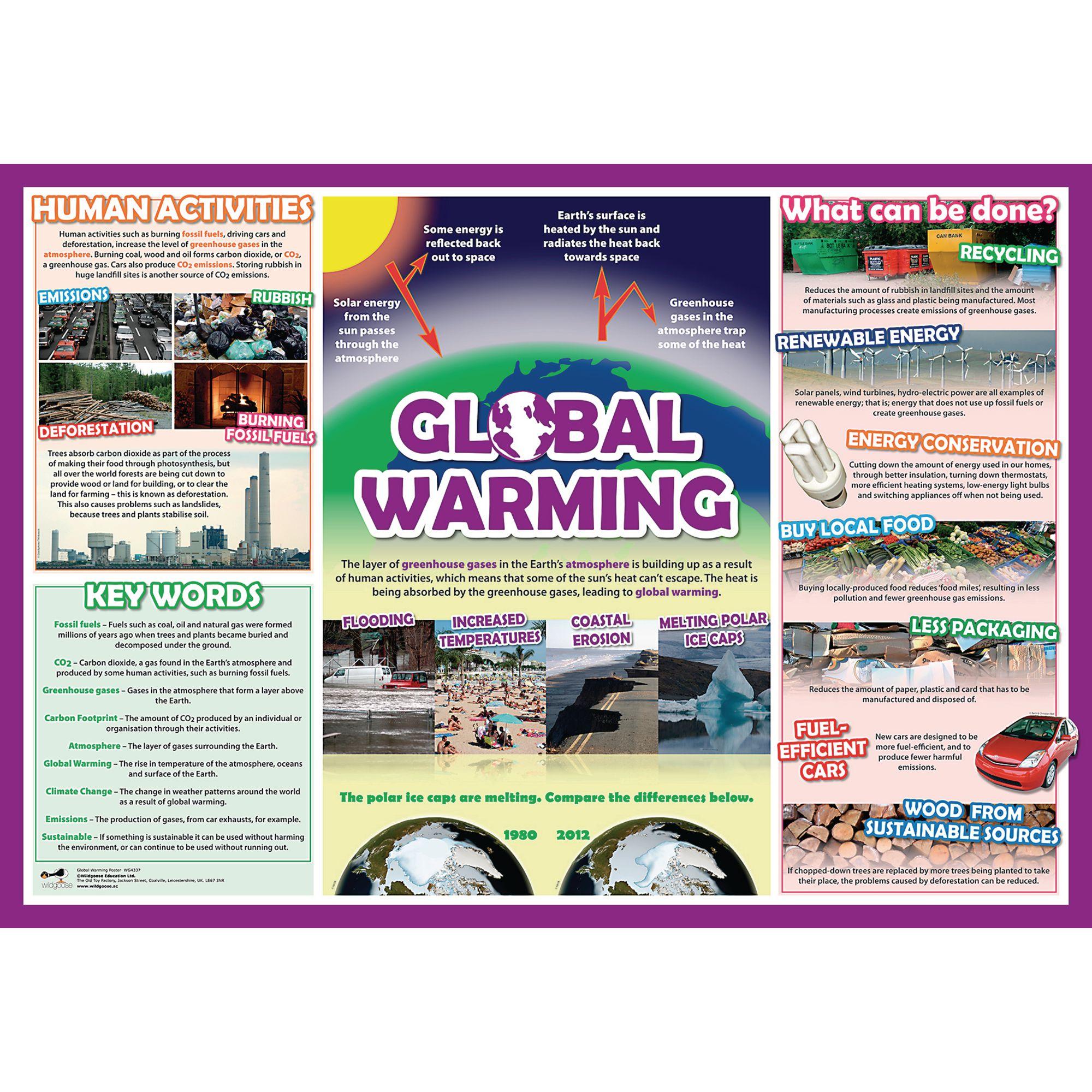 Global Warming Poster Findel International