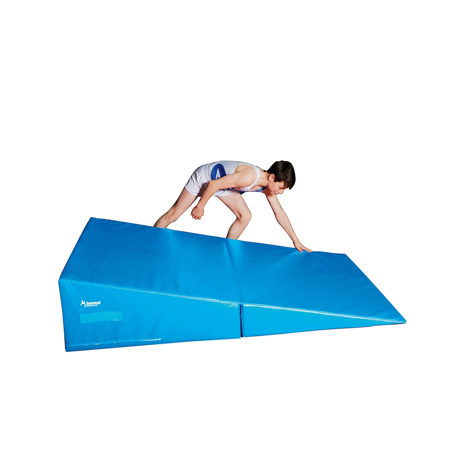 costway ip incline exercise gymnastics mats ramp aerobics wedge tumbling sports gym mat
