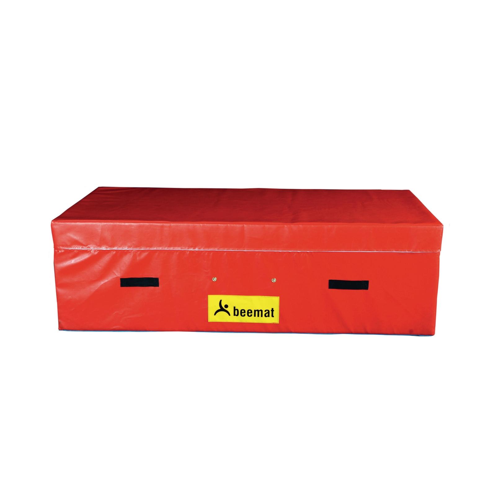Beemat coaching block red 2m x 1m x 600mm davies sports for Schreibtisch 2m x 1m