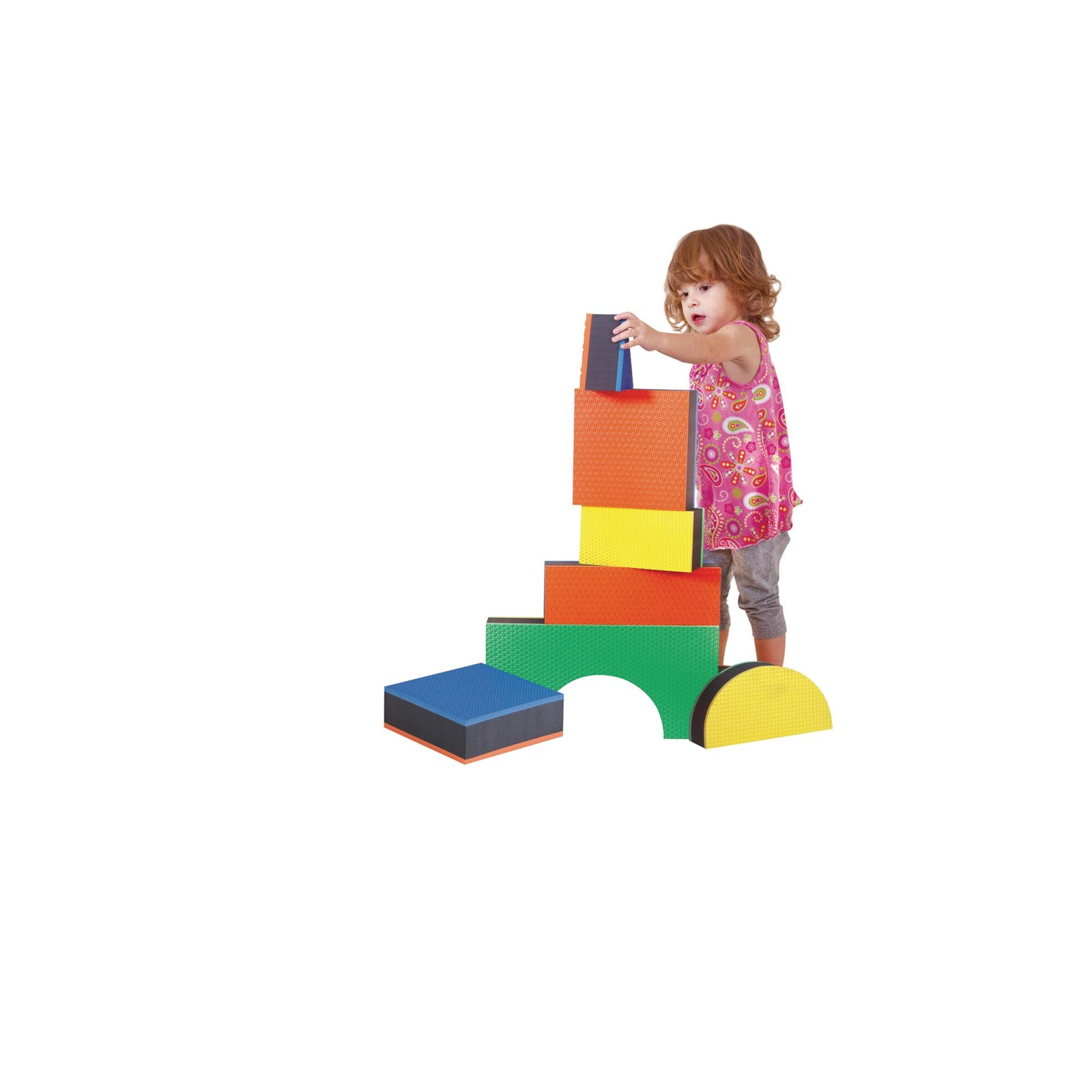 Jumbo Textured Blocks