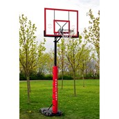 Sure Shot Quick Adjust Portable Basketball Unit - Acrylic Background