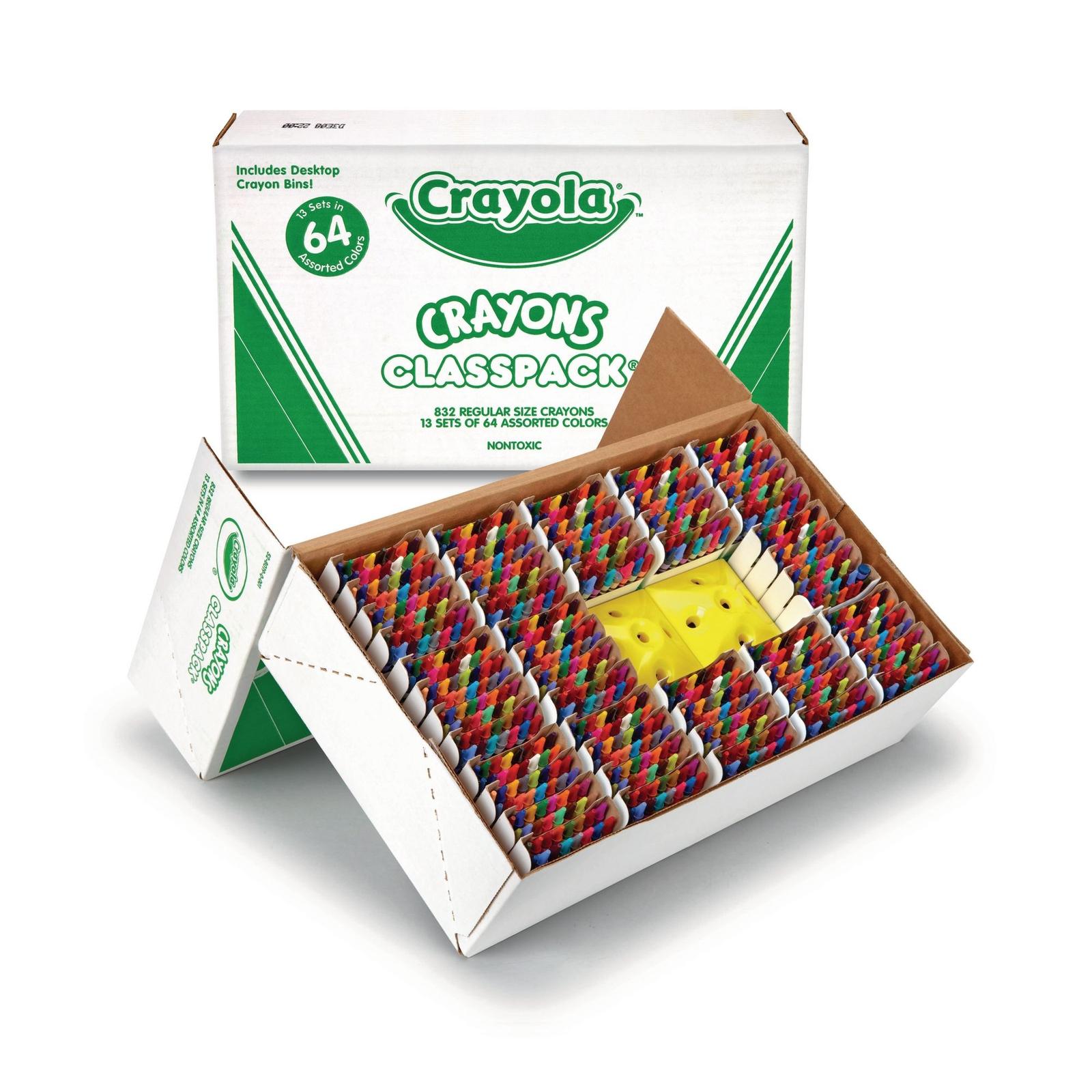 Crayola Crayon Classpack Pack of 832